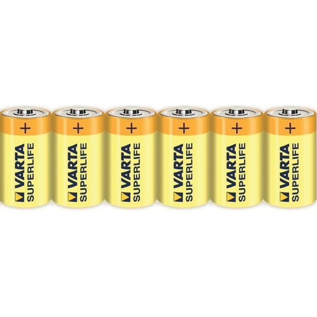 Батарейка Varta SUPERLIFE ZINK-CARBON * 6 fol (2020101306)