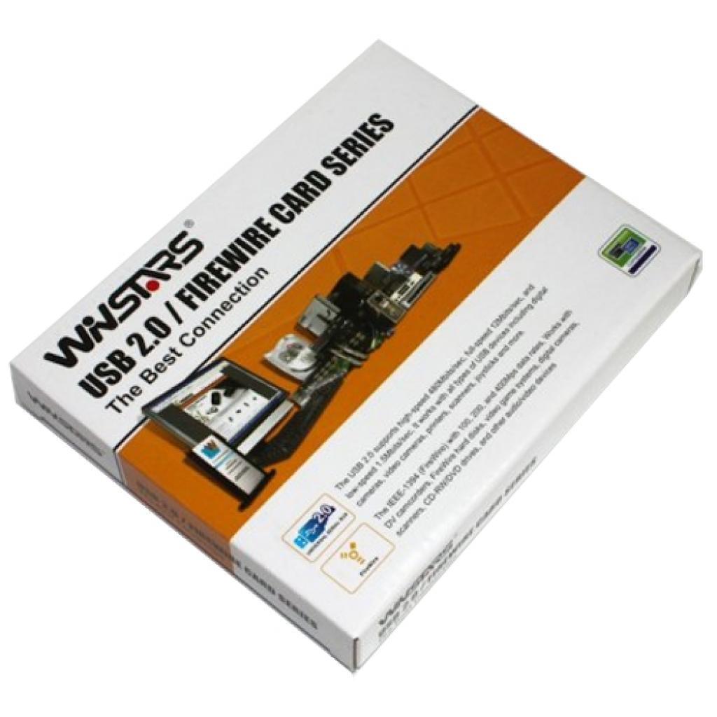 Контроллер PCMCIA to 3xFirewire Winstars (WS-CB1394x2) изображение 2