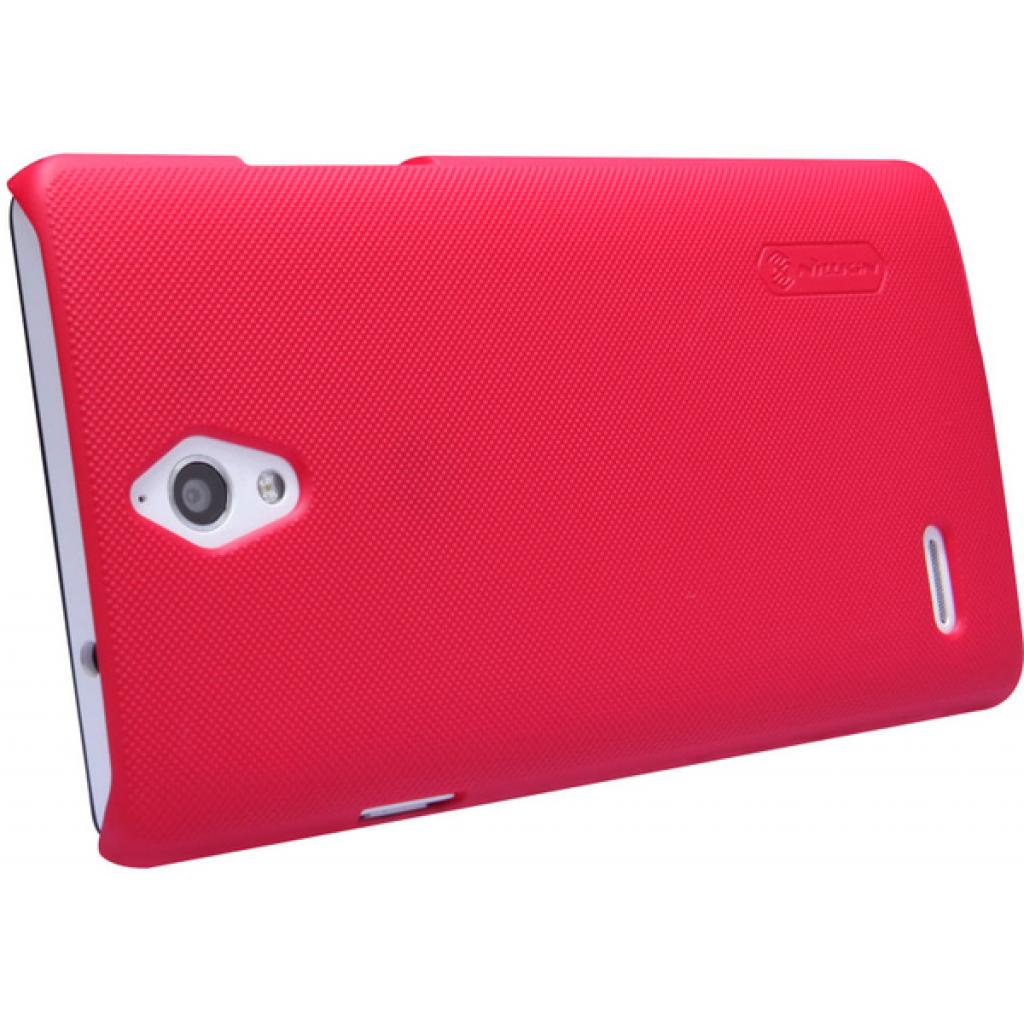 Чехол для моб. телефона NILLKIN для Huawei G700 /Super Frosted Shield/Red (6076996) изображение 4