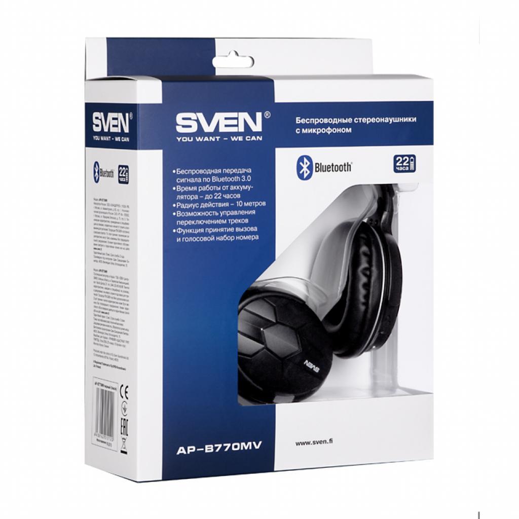 Наушники SVEN AP-B770MV Bluetooth (AP-B770MV) изображение 6