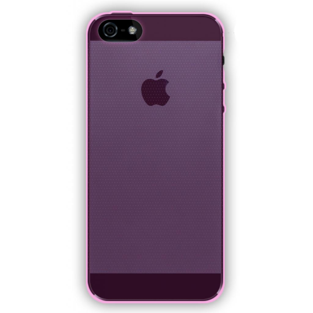 Чехол для моб. телефона GLOBAL для Apple iPhone 5/5S (фиолетовый) (1283126461736)