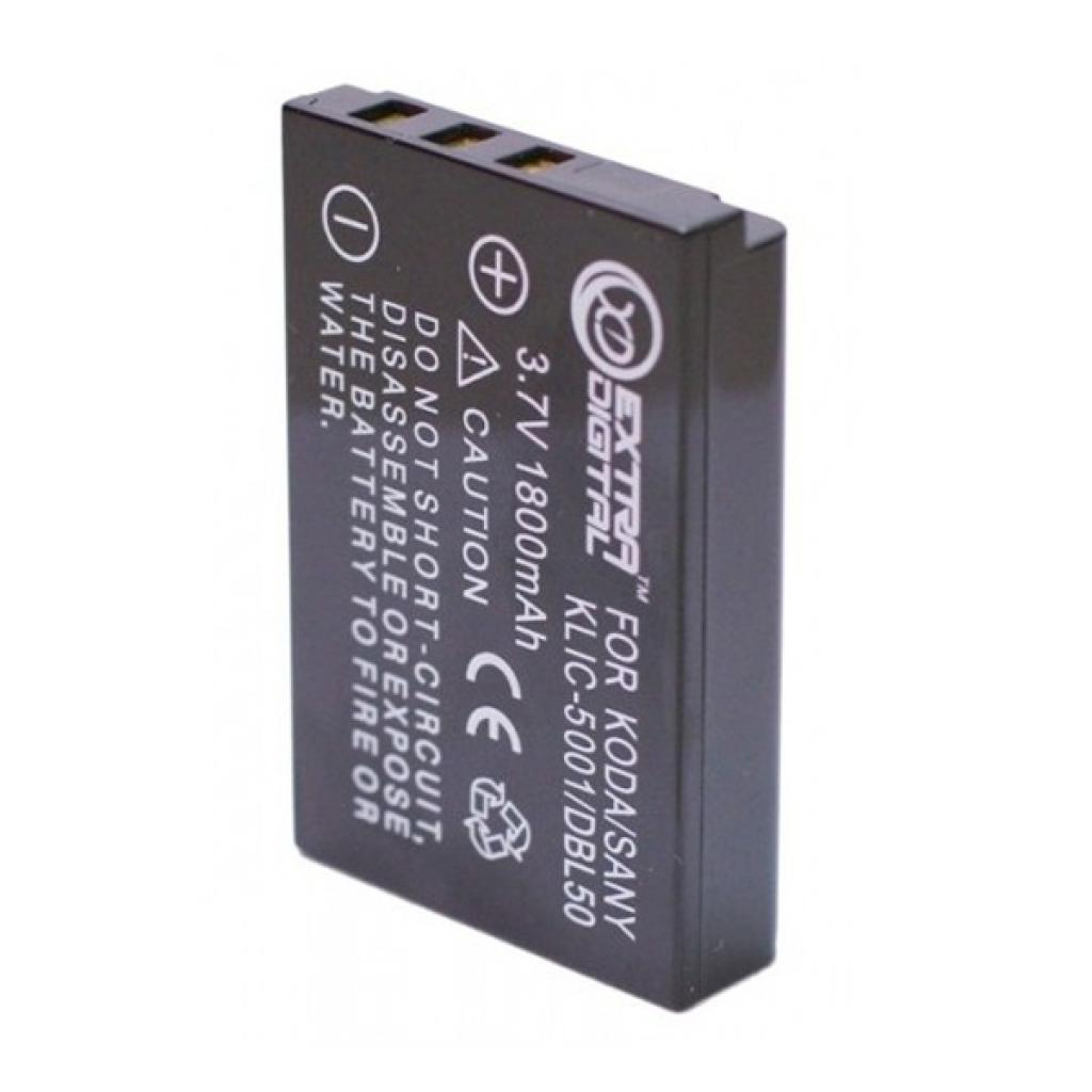 Аккумулятор к фото/видео EXTRADIGITAL Kodak KLIC-5001, DB-L50 (DV00DV1151) изображение 2