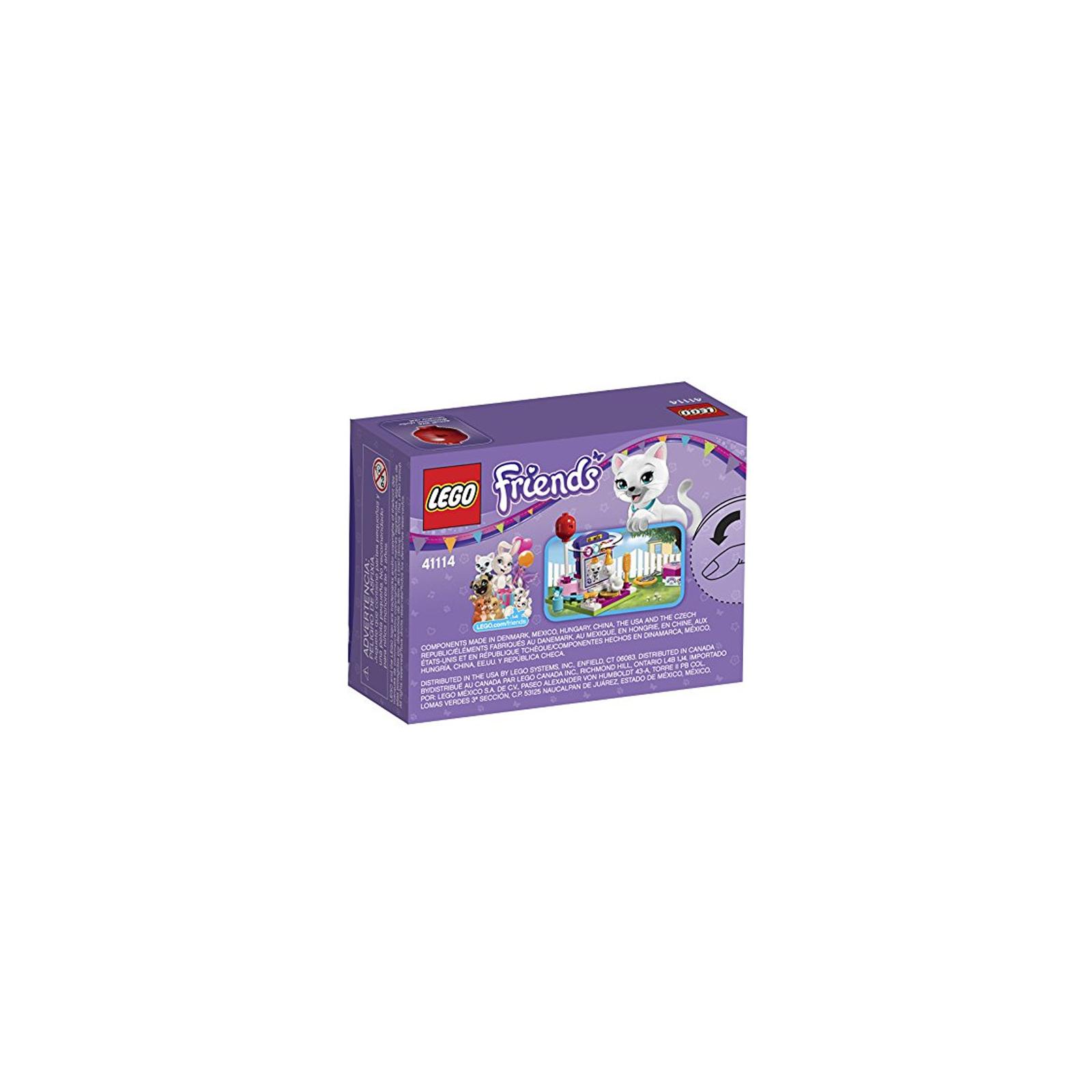 Конструктор LEGO Friends День рождения: салон красоты (41114) изображение 8