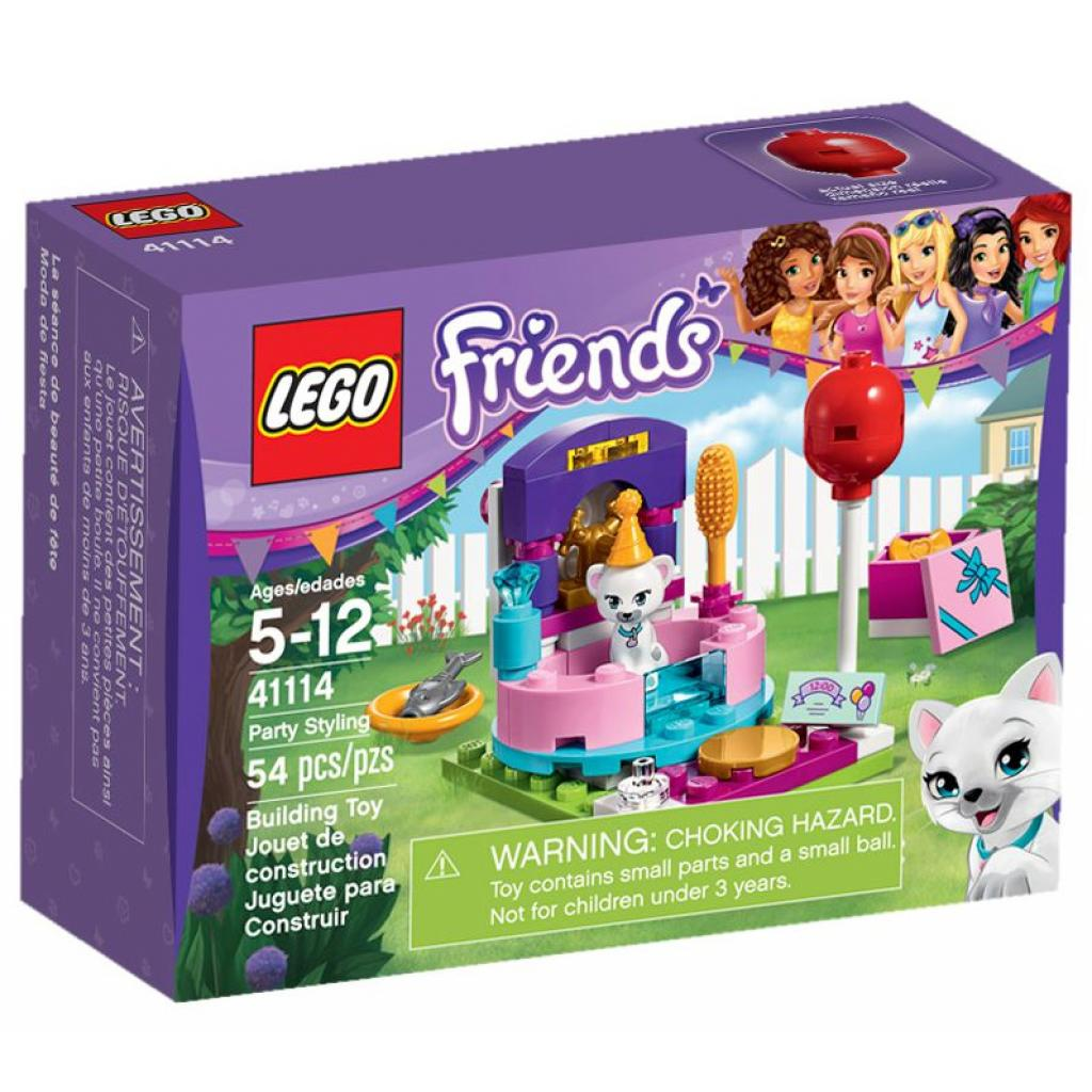 Конструктор LEGO Friends День рождения: салон красоты (41114)