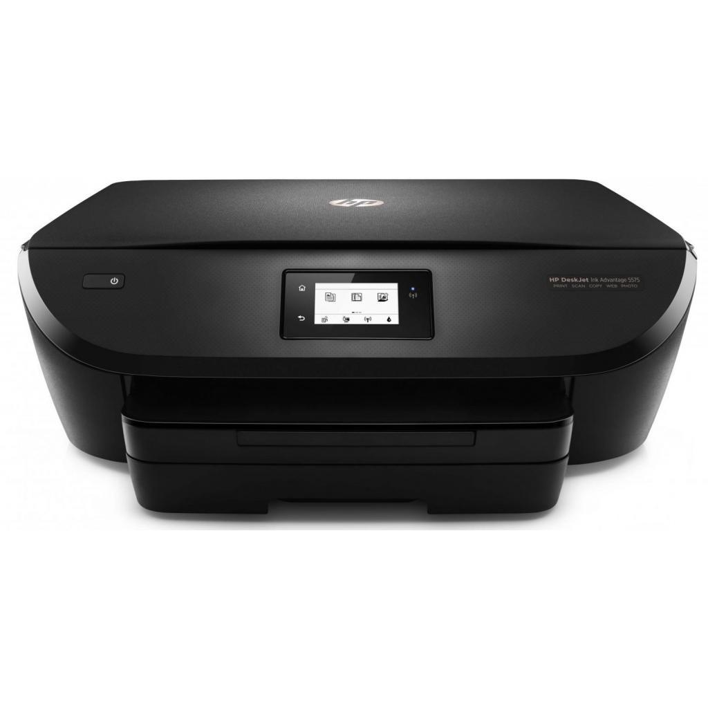 Многофункциональное устройство HP DeskJet Ink Advantage 5575 c Wi-Fi (G0V48C) изображение 2