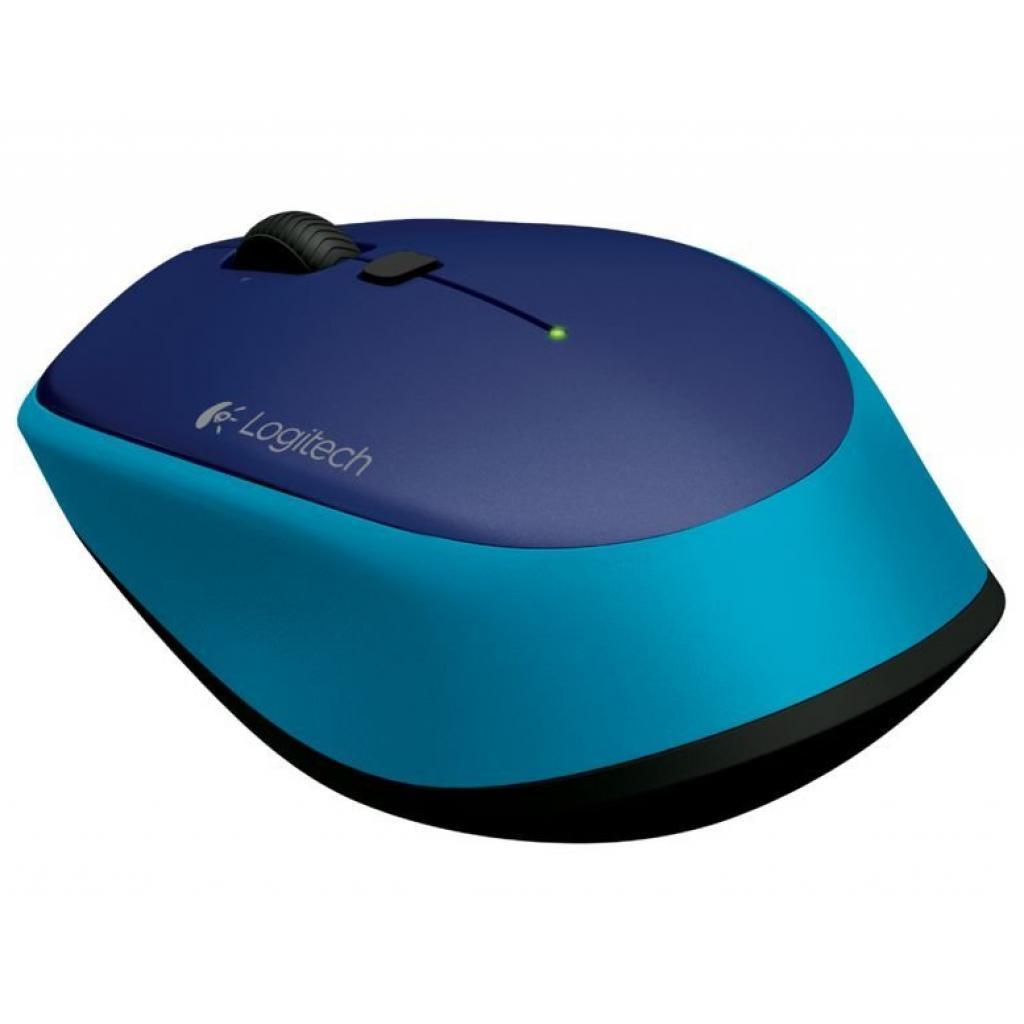 Мышка Logitech M335 Blue (910-004546) изображение 3