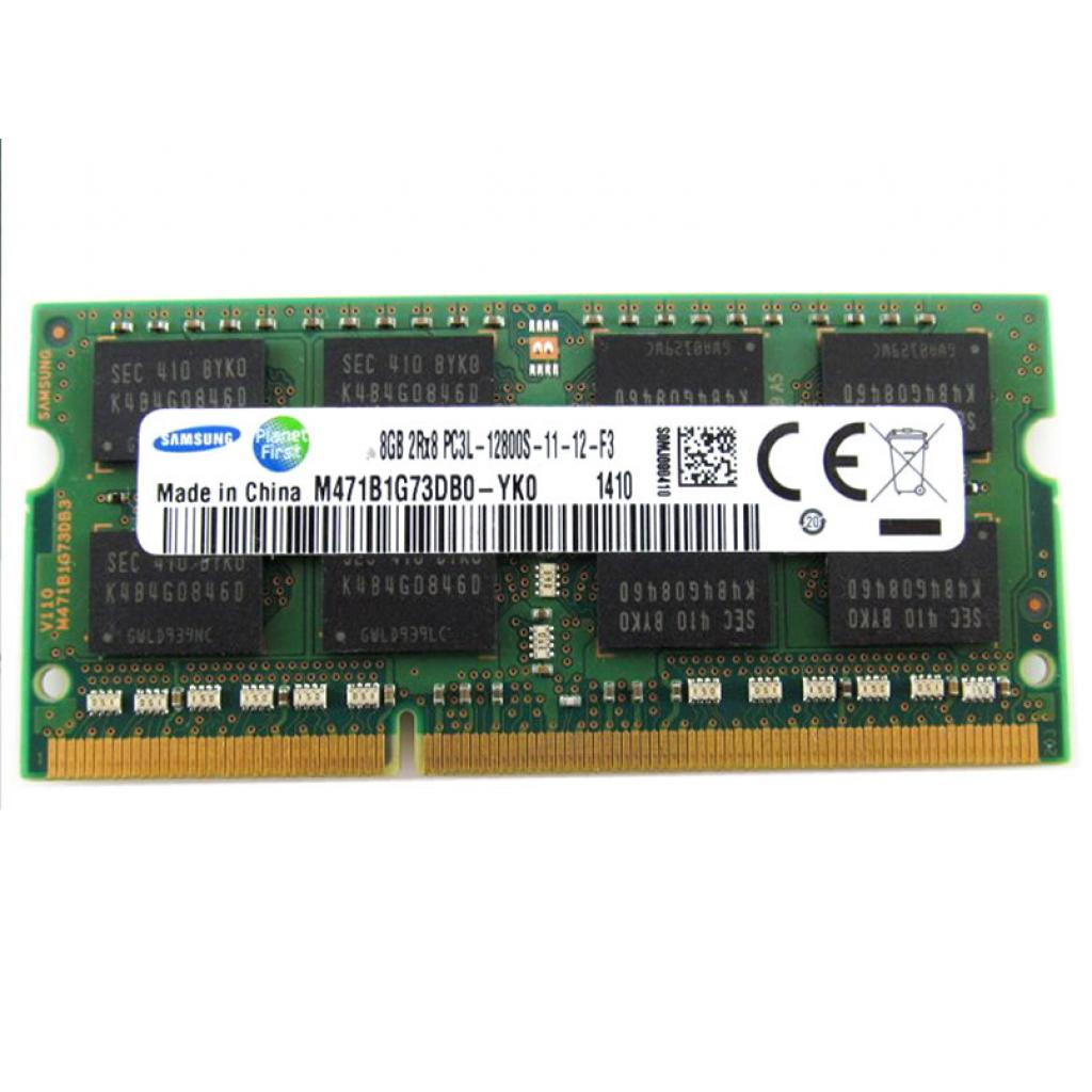 Модуль памяти для ноутбука SoDIM DDR3 8GB 1600 MHz Samsung (M471B1G73DB0-YK0)