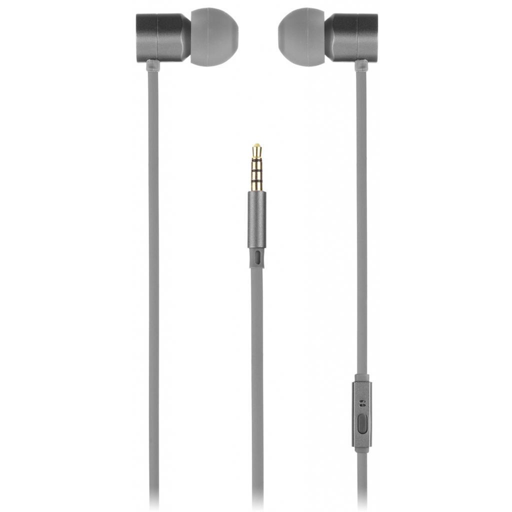 Наушники KitSound KS Hive Buds Earphones with Mic Grey (KSHIVBGY) изображение 4