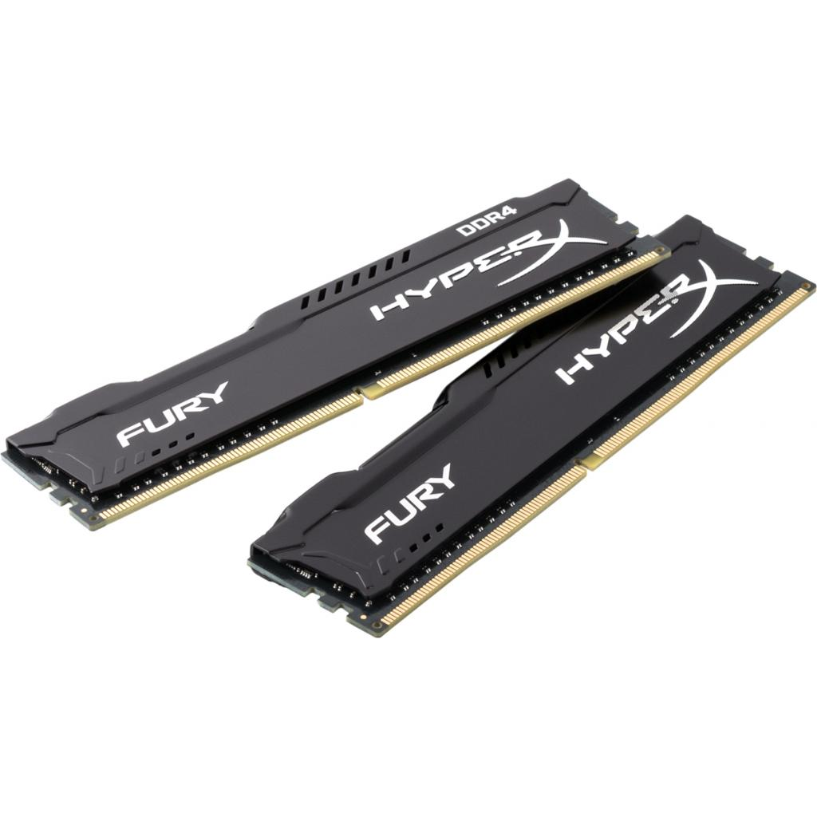 Модуль памяти для компьютера DDR4 16GB (2x8GB) 2133 MHz HyperX FURY Black HyperX (Kingston Fury) (HX421C14FB2K2/16)