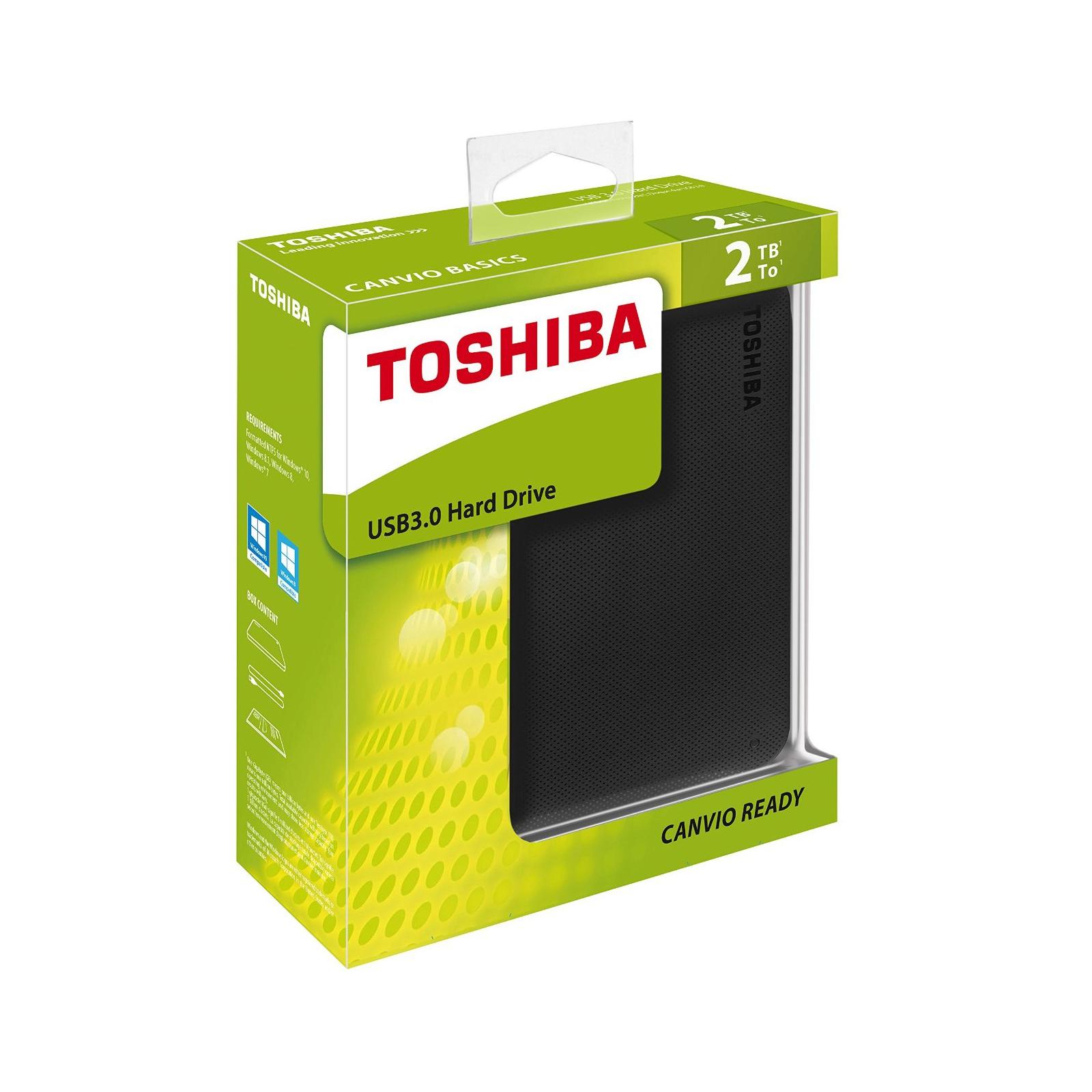"""Внешний жесткий диск 2.5"""" 2TB TOSHIBA (HDTP220EK3CA) изображение 7"""