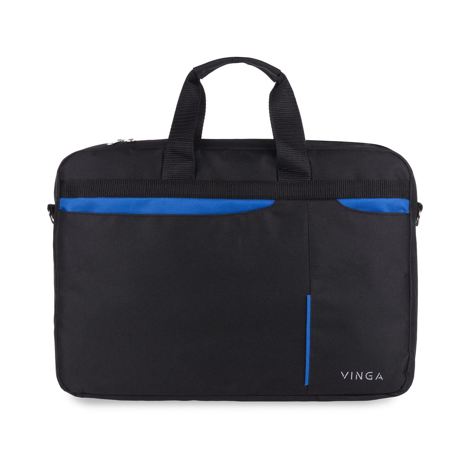 """Сумка для ноутбука Vinga 15.6"""" NB175BB blue-black (NB175BB) изображение 3"""