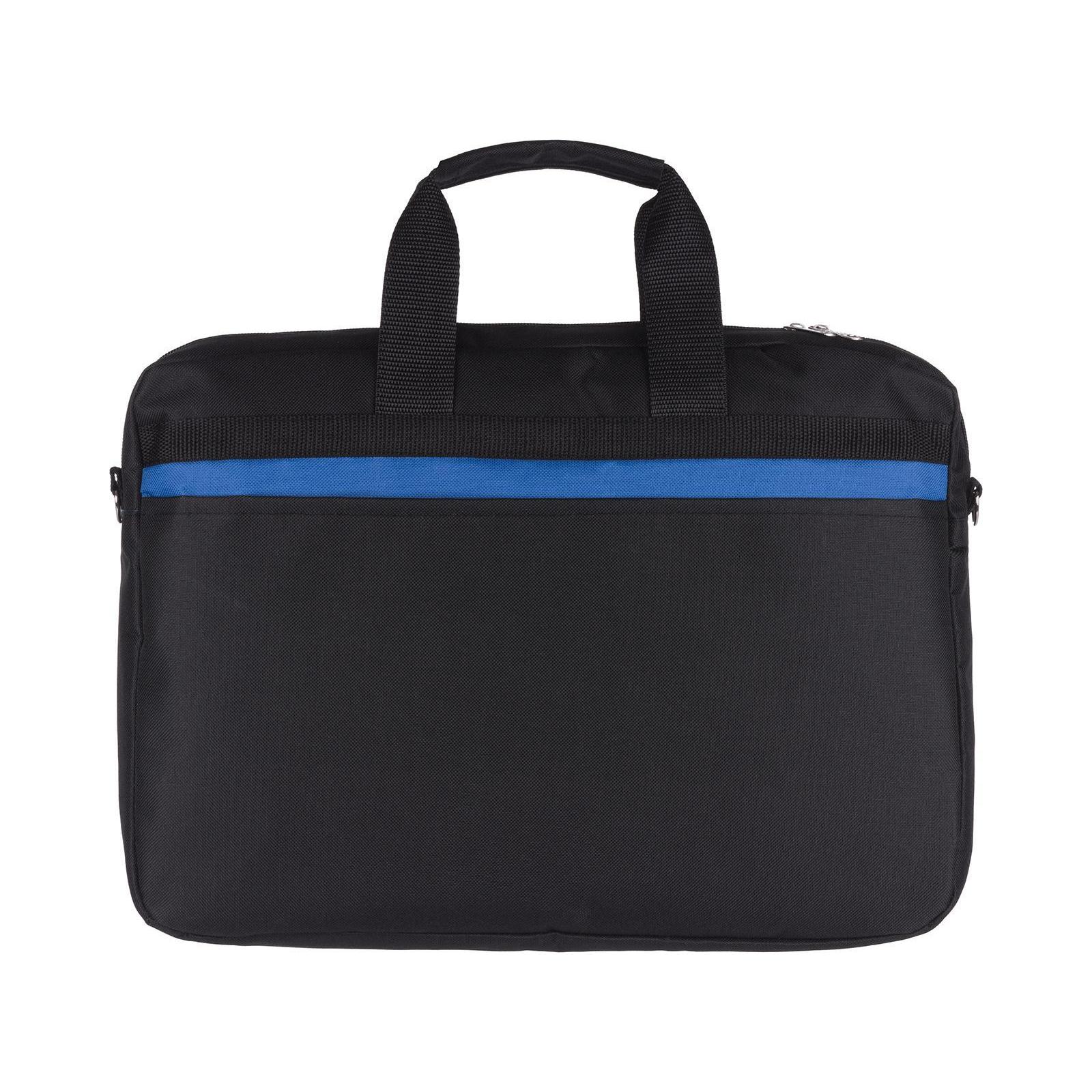 """Сумка для ноутбука Vinga 15.6"""" NB175BB blue-black (NB175BB) изображение 4"""