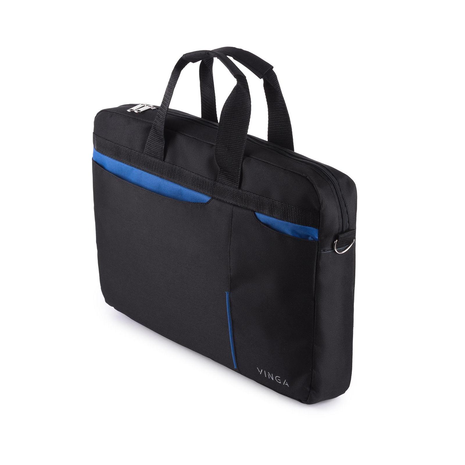"""Сумка для ноутбука Vinga 15.6"""" NB175BB blue-black (NB175BB) изображение 5"""