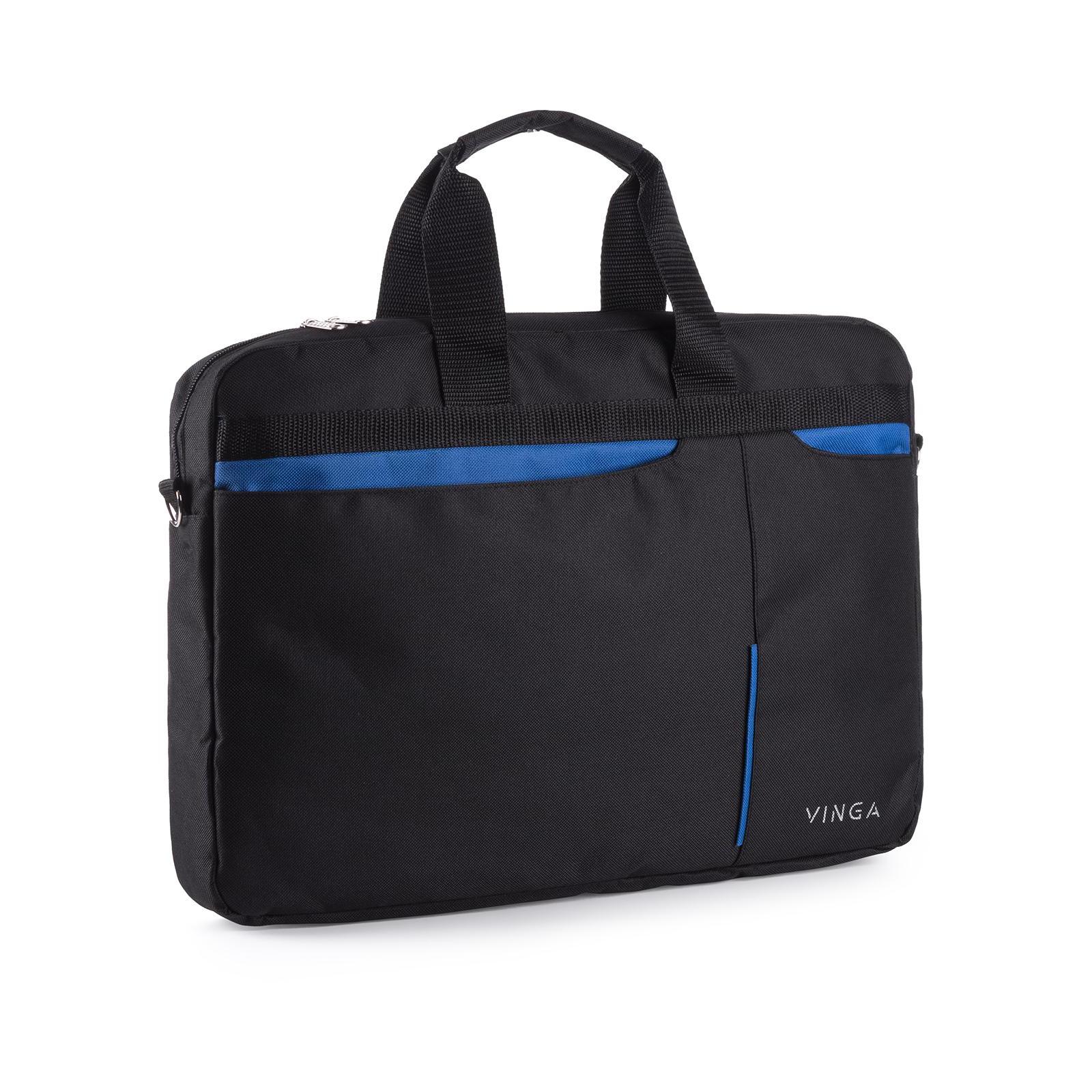 """Сумка для ноутбука Vinga 15.6"""" NB175BB blue-black (NB175BB) изображение 6"""