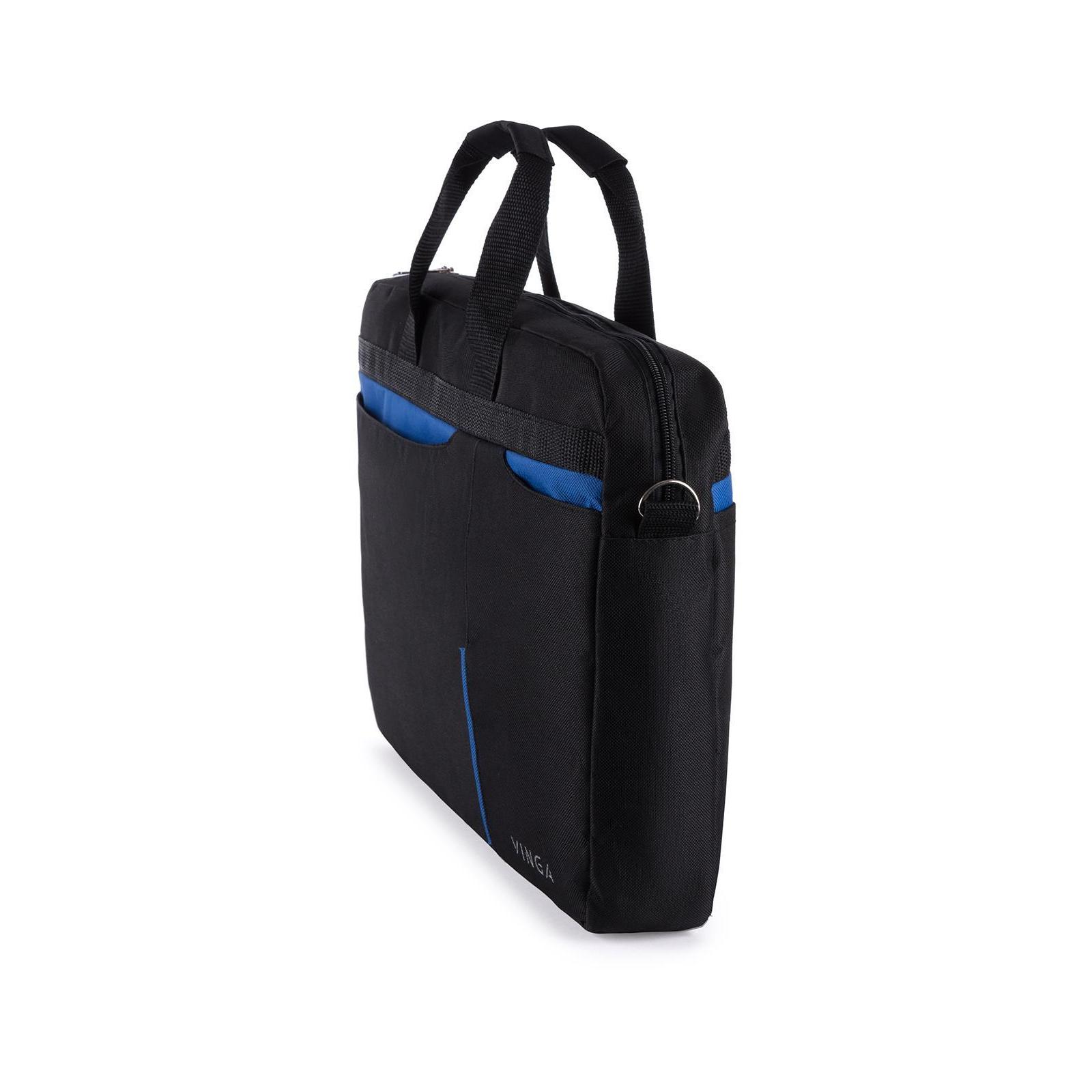 """Сумка для ноутбука Vinga 15.6"""" NB175BB blue-black (NB175BB) изображение 7"""