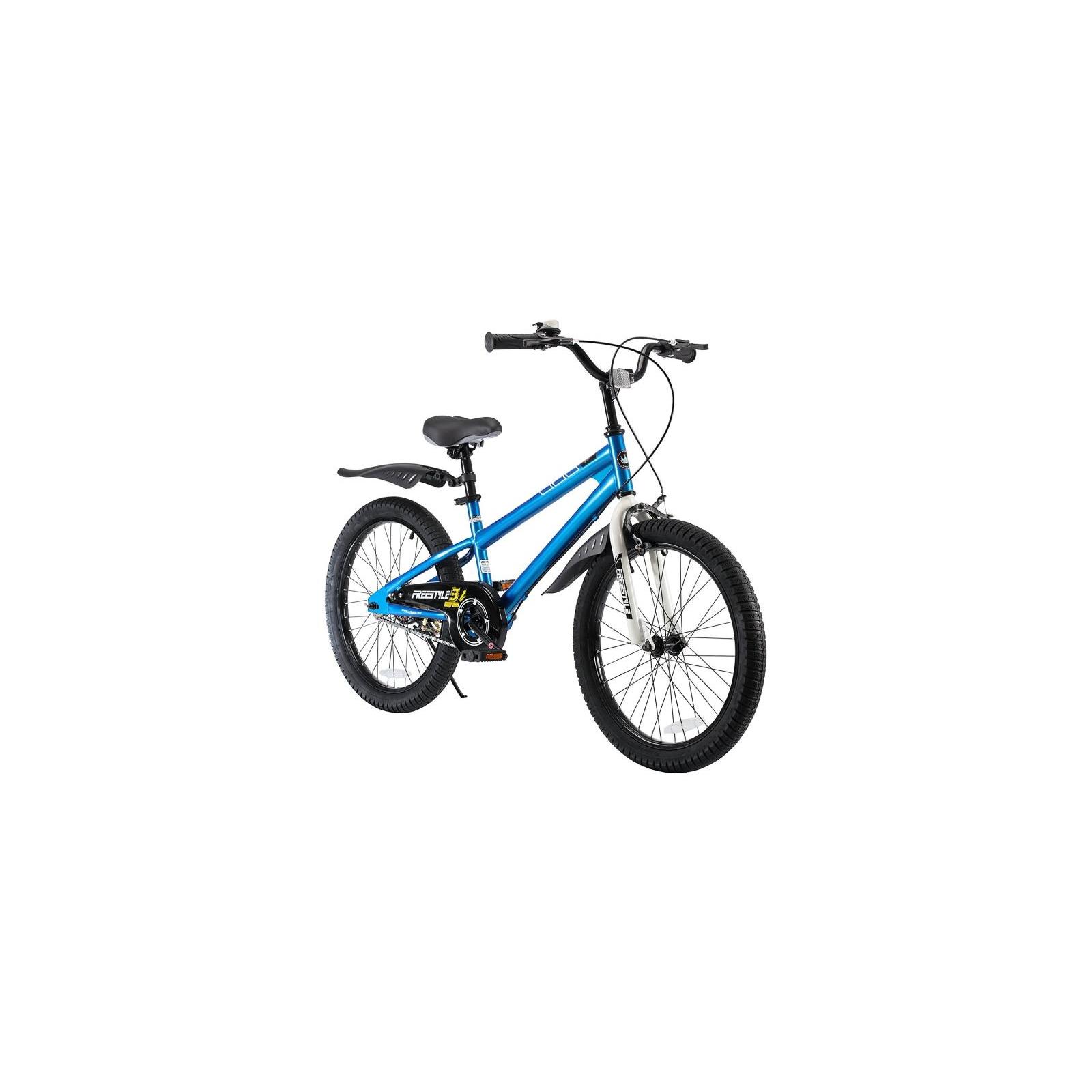 "Велосипед Royal Baby FREESTYLE 20"", синий (RB20B-6-BLU) изображение 3"