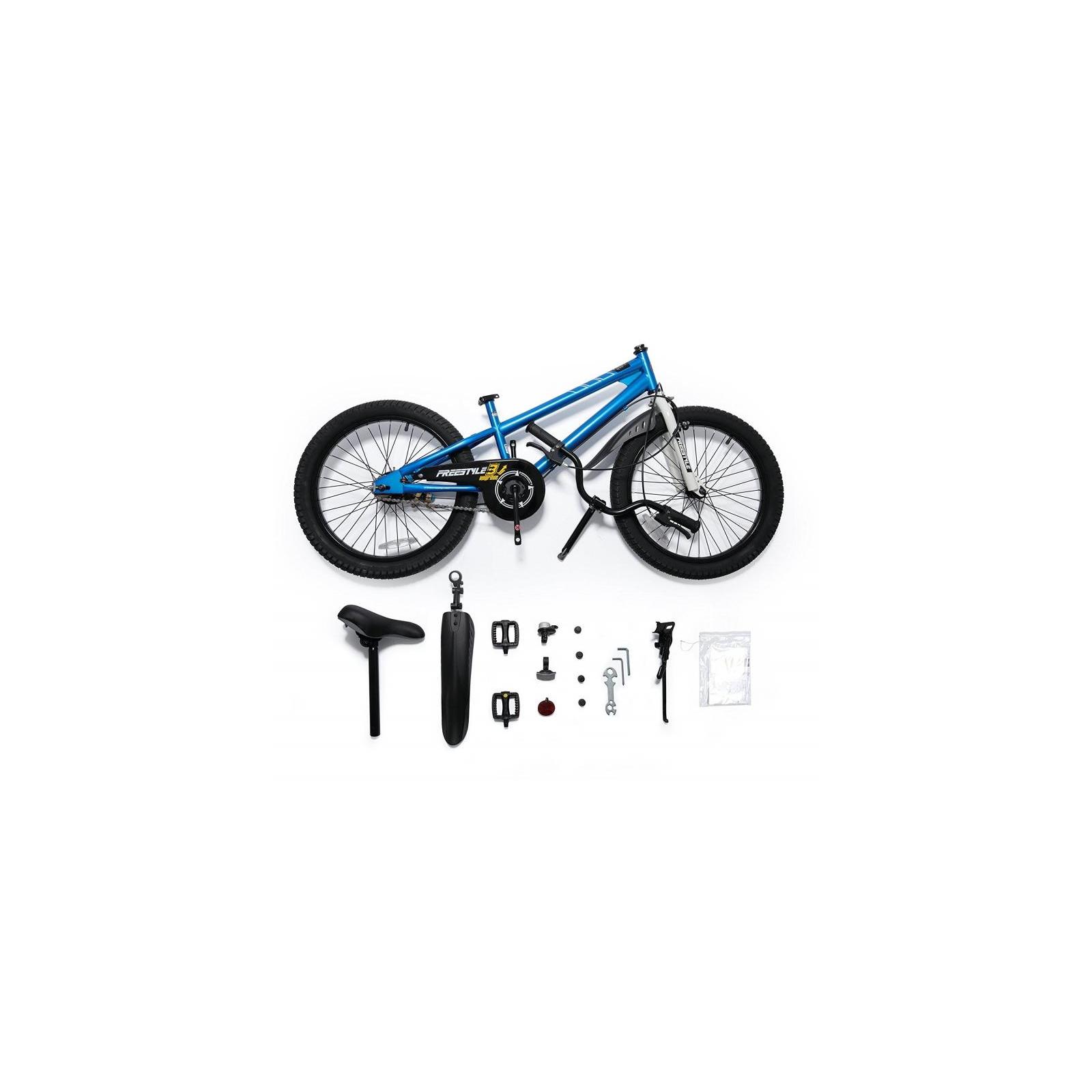 "Велосипед Royal Baby FREESTYLE 20"", синий (RB20B-6-BLU) изображение 6"