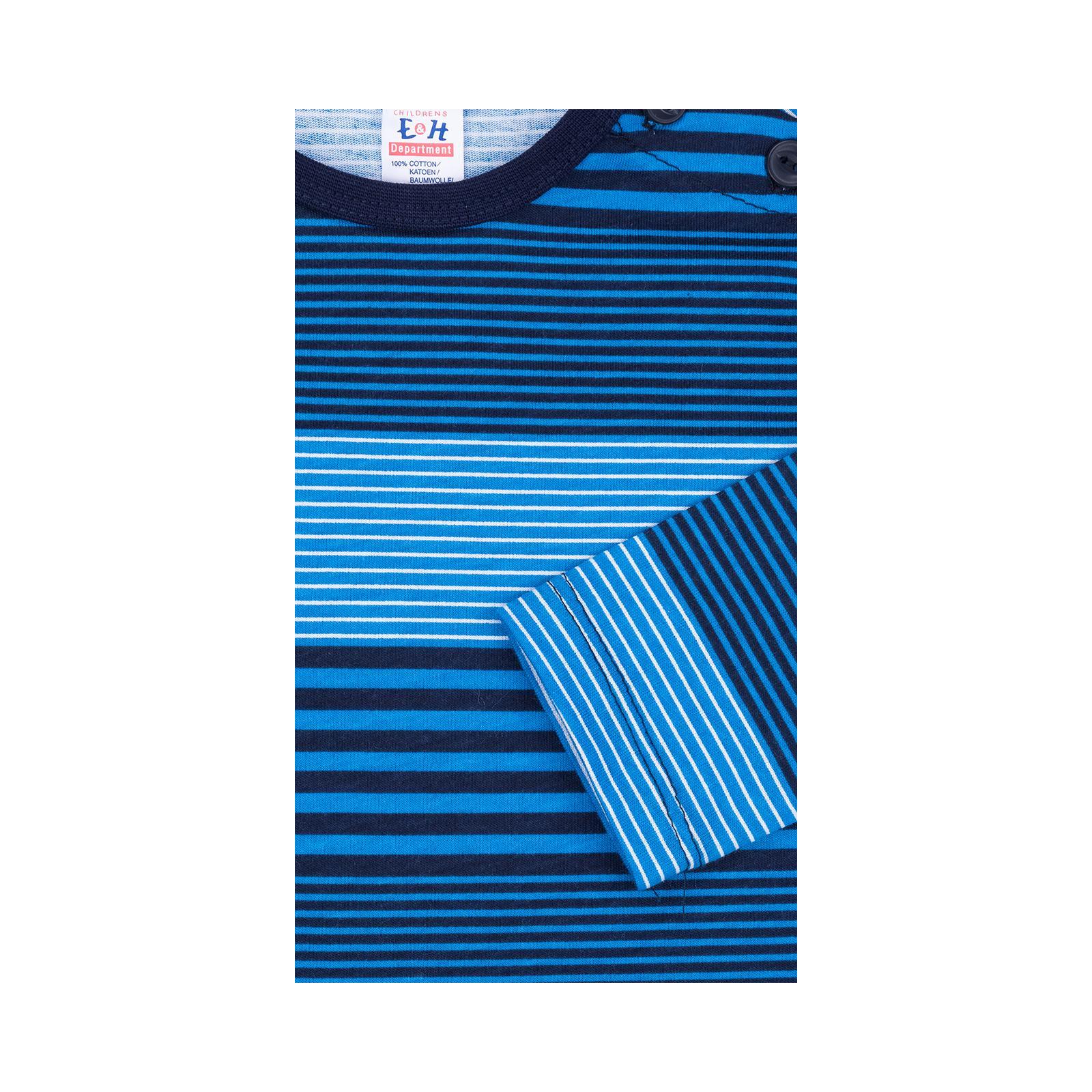 Кофта Breeze в полосочку (3332-92B-blue) изображение 4