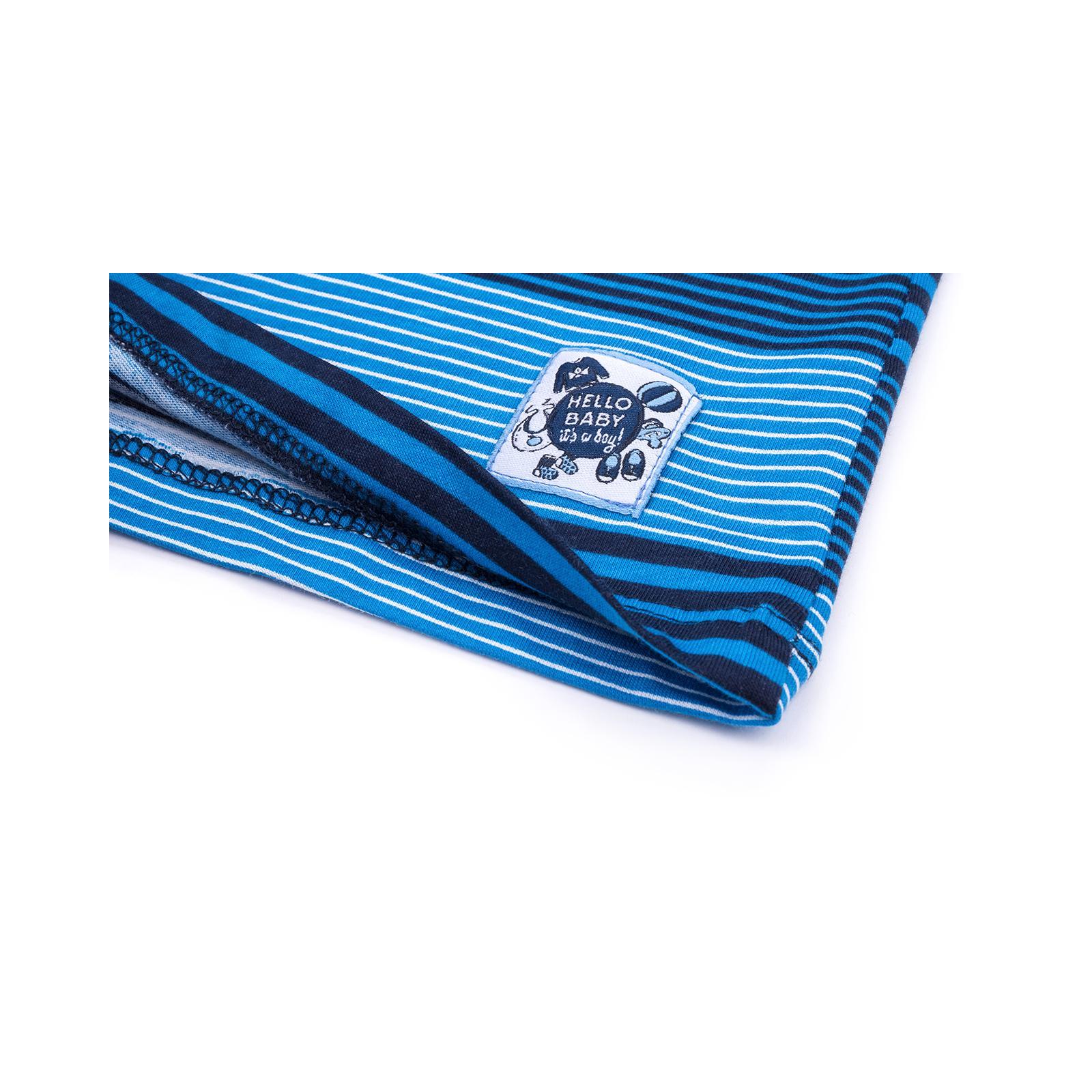 Кофта Breeze в полосочку (3332-92B-blue) изображение 5