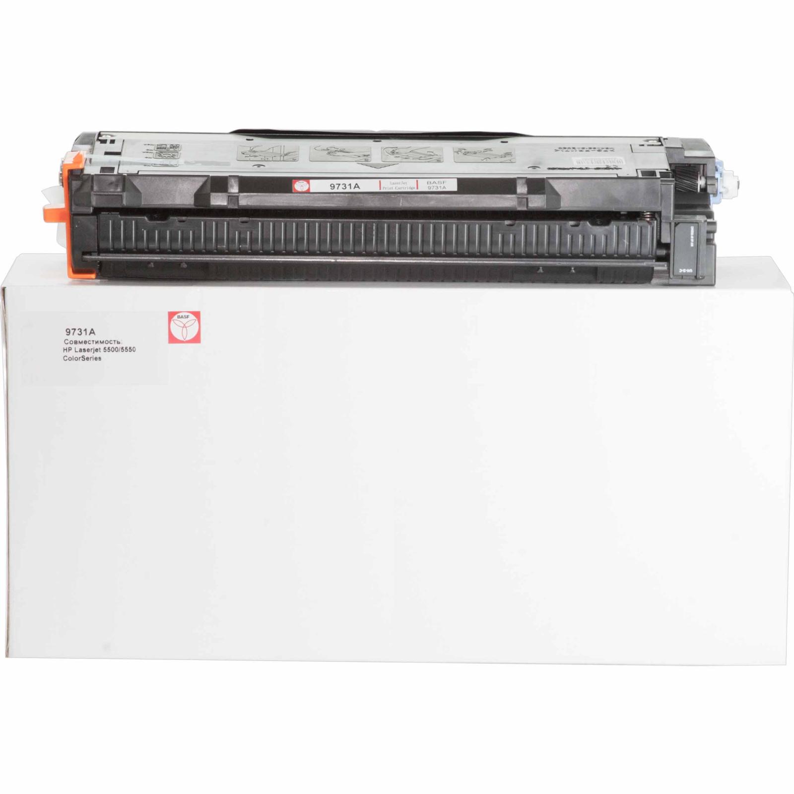 Картридж BASF для HP CLJ 5500/5550 Cyan (KT-C9731A)