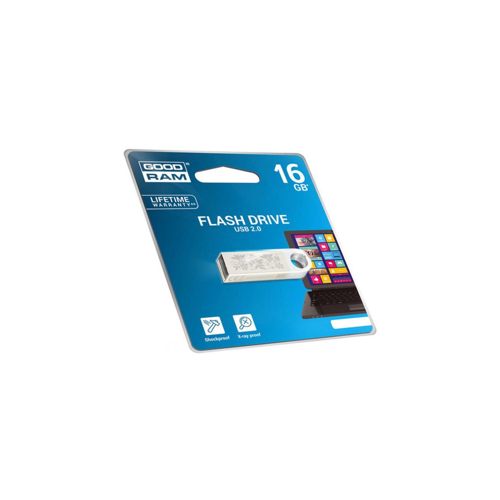 USB флеш накопитель Goodram 16GB UUN2 Spring USB 2.0 (UUN2-0160S0R11-L) изображение 2