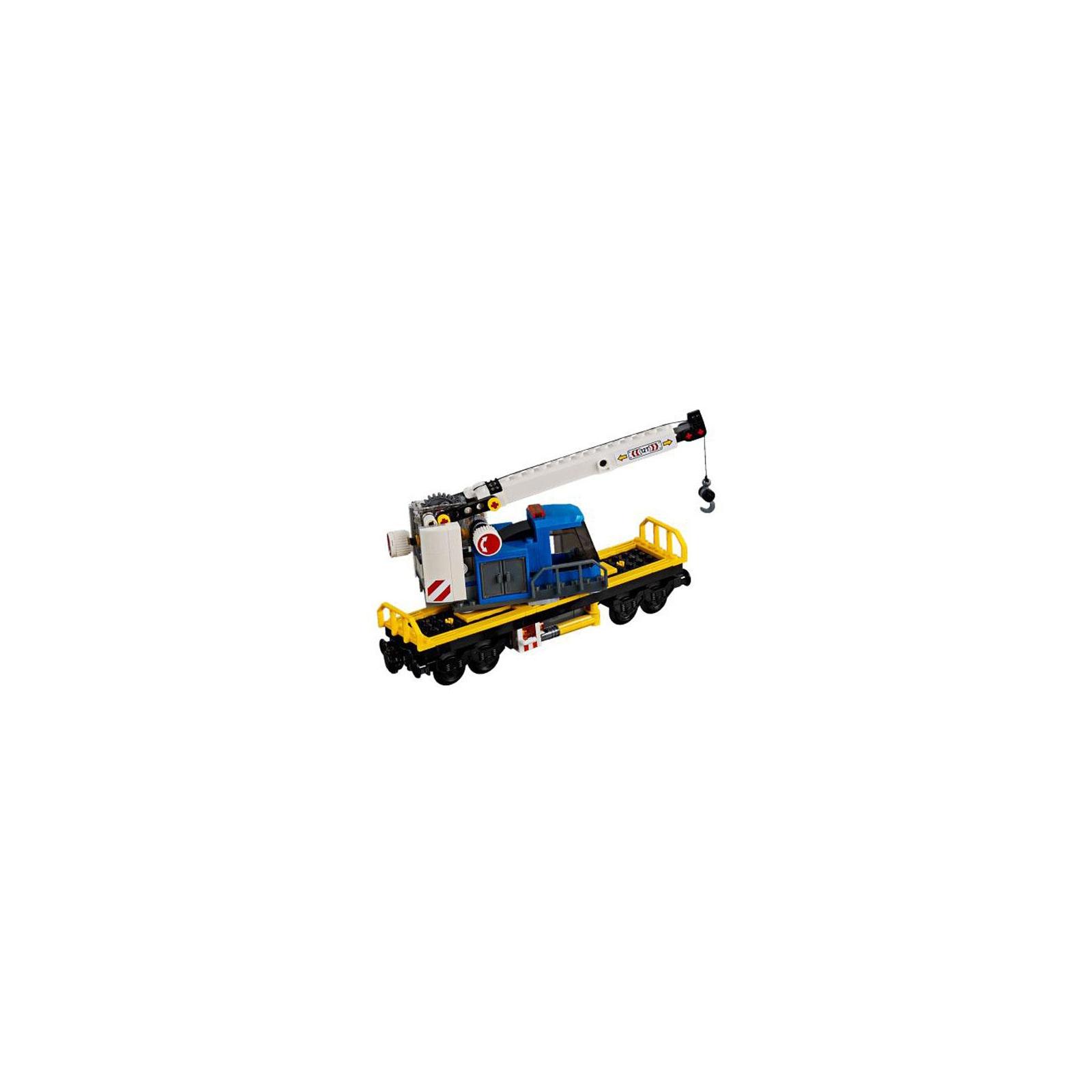 Конструктор LEGO CITY Грузовой поезд (60198) изображение 10