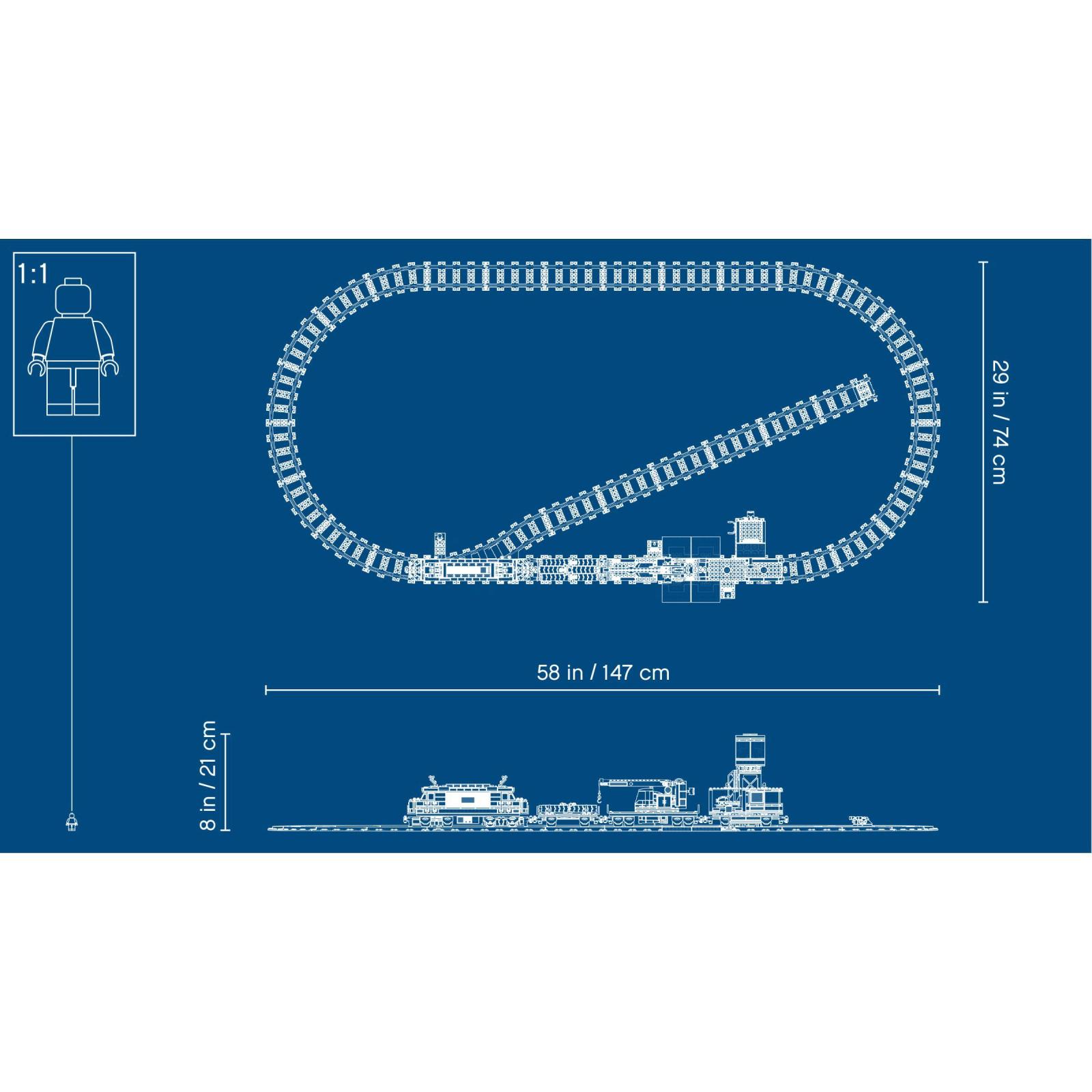 Конструктор LEGO CITY Грузовой поезд (60198) изображение 11
