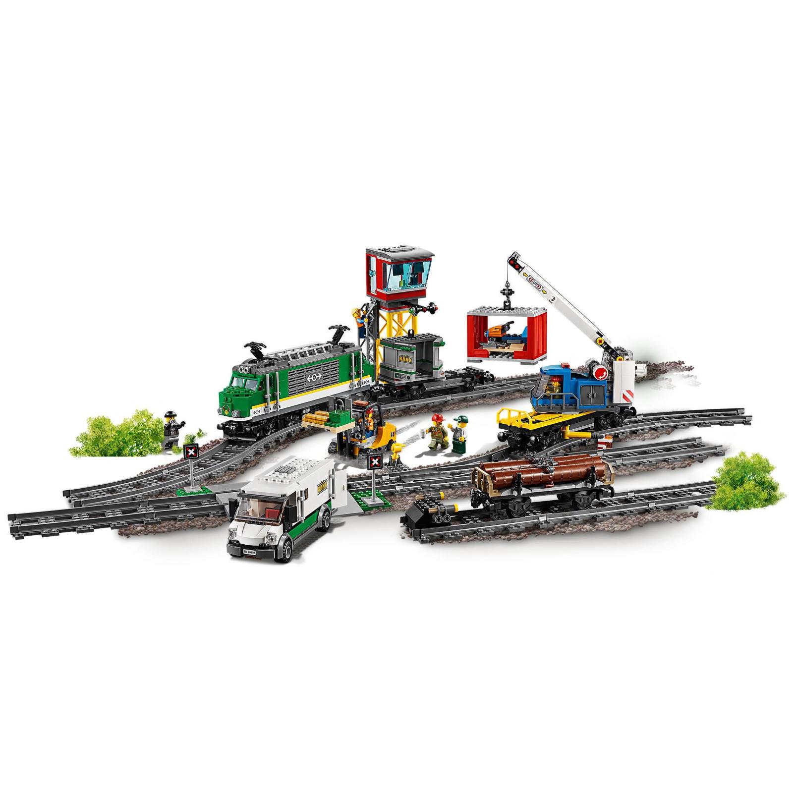Конструктор LEGO CITY Грузовой поезд (60198) изображение 2
