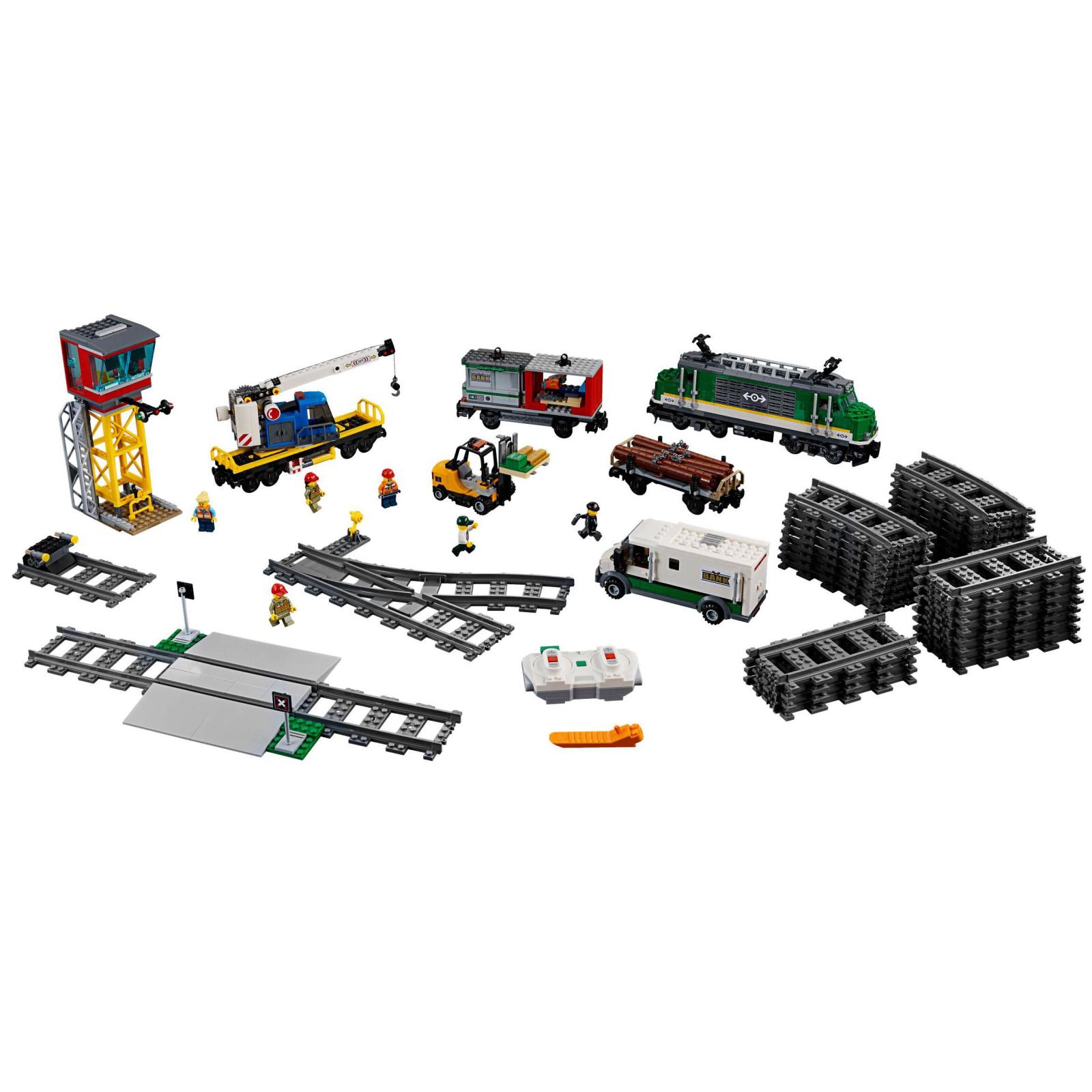 Конструктор LEGO CITY Грузовой поезд (60198) изображение 3