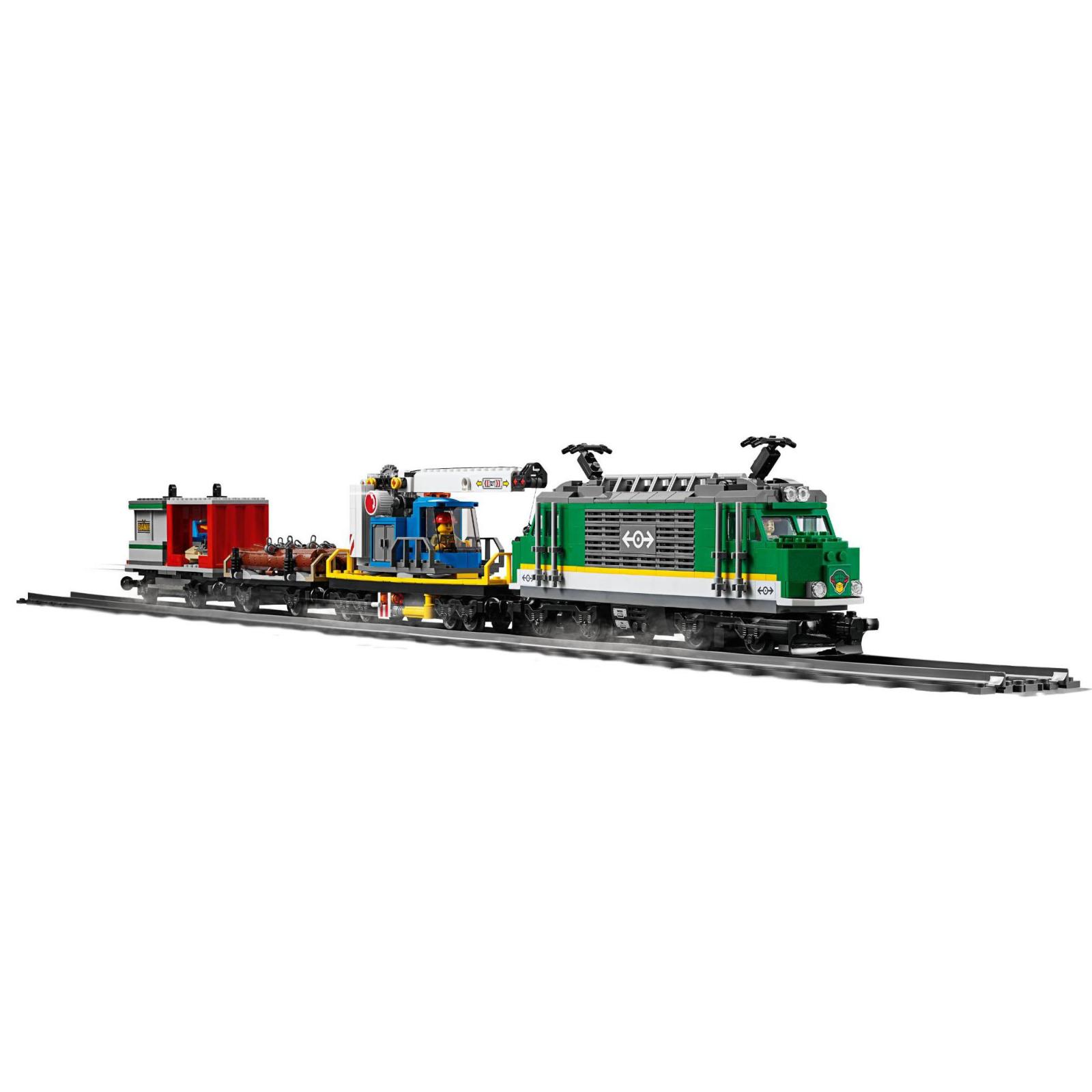 Конструктор LEGO CITY Грузовой поезд (60198) изображение 4