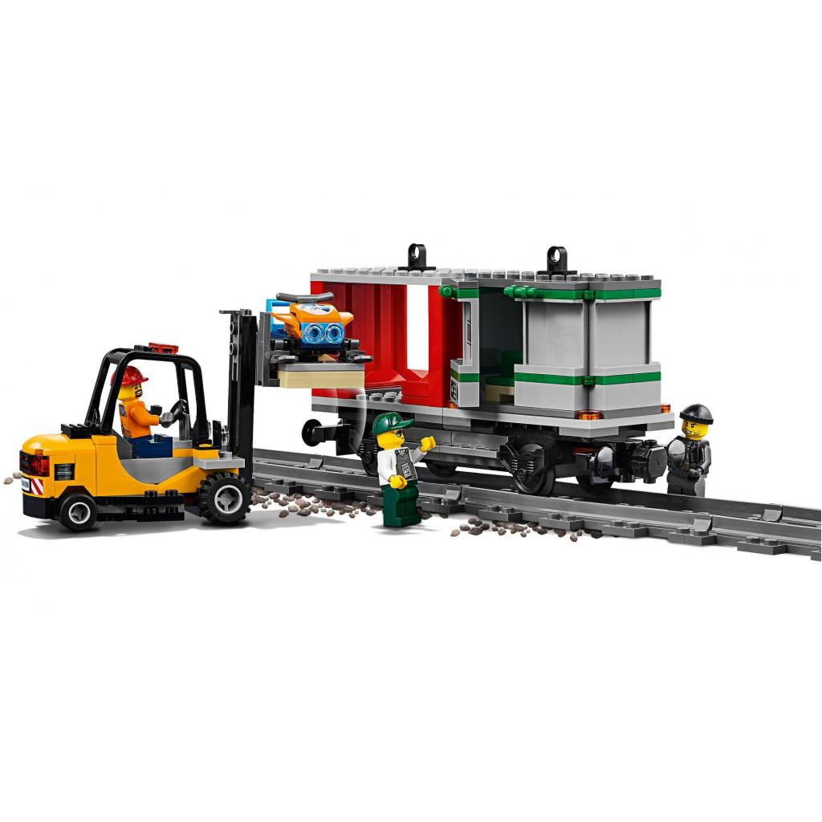 Конструктор LEGO CITY Грузовой поезд (60198) изображение 5