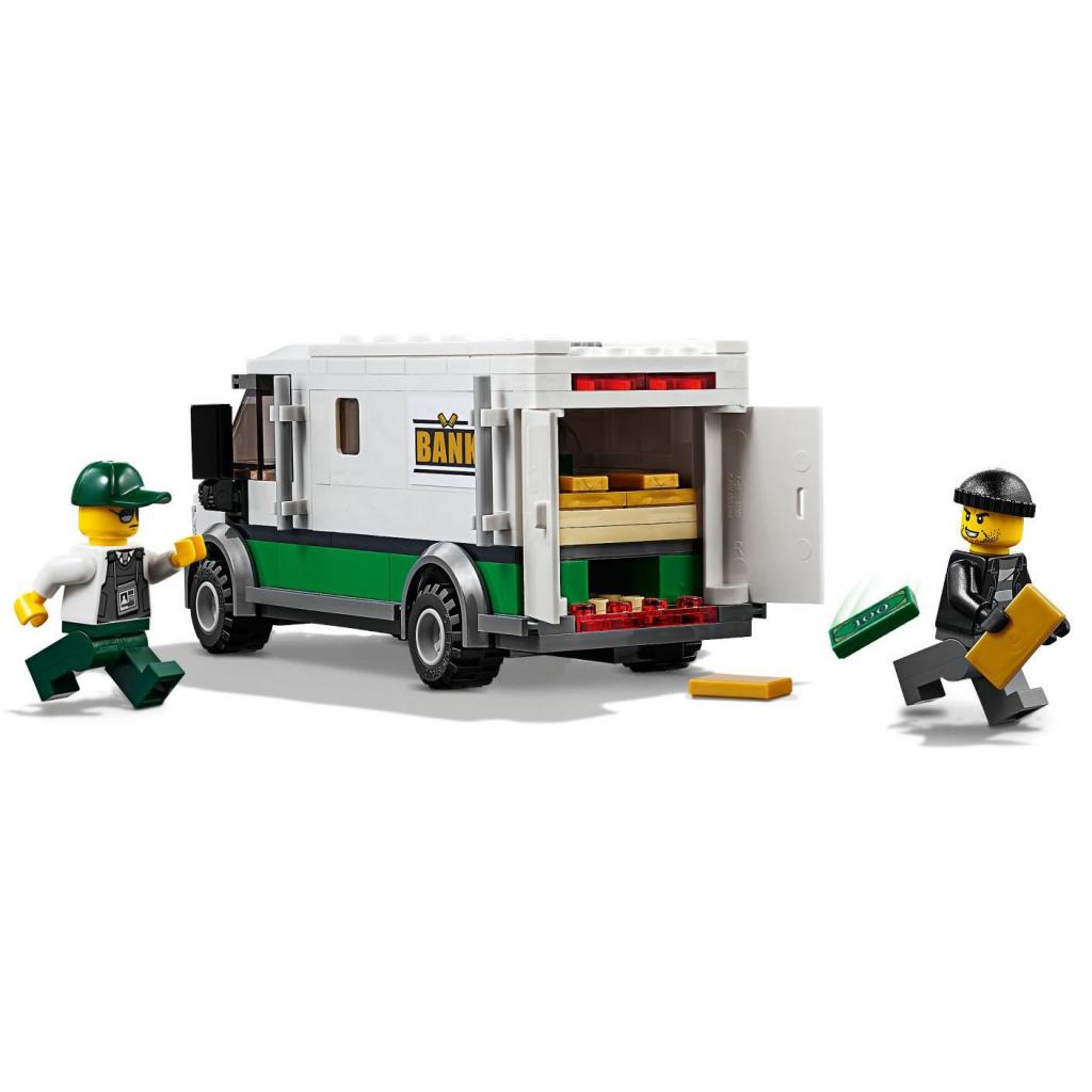 Конструктор LEGO CITY Грузовой поезд (60198) изображение 6