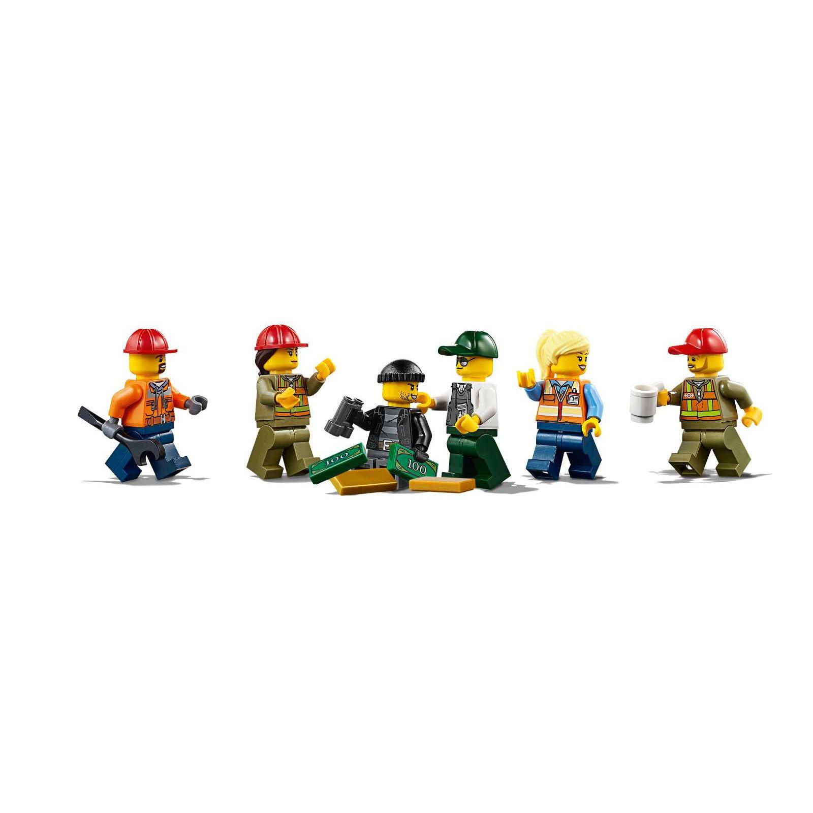 Конструктор LEGO CITY Грузовой поезд (60198) изображение 7