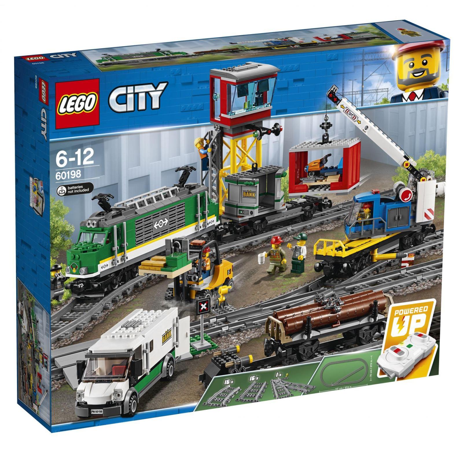 Конструктор LEGO CITY Грузовой поезд (60198)