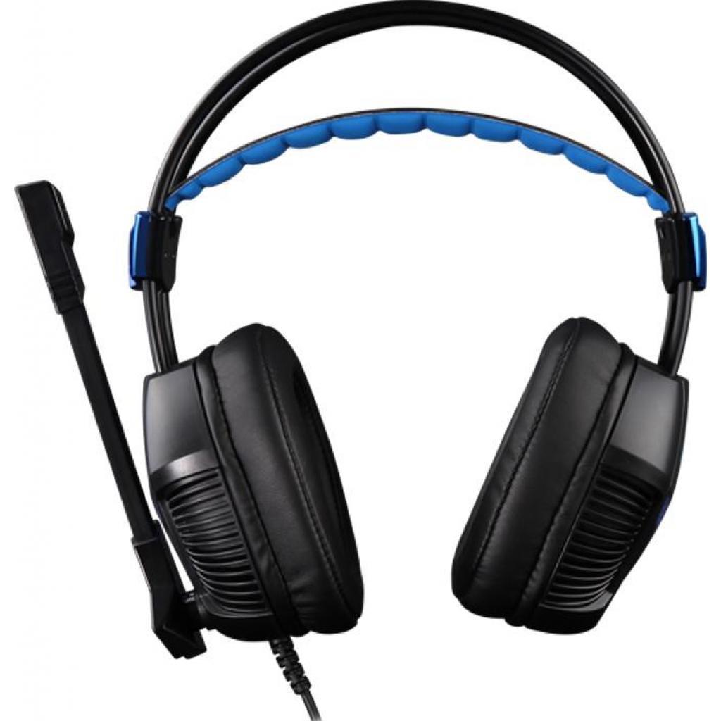 Наушники SADES Xpower Plus Black/Blue (SA706S-B-BL) изображение 2