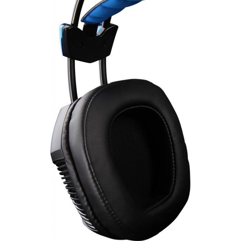 Наушники SADES Xpower Plus Black/Blue (SA706S-B-BL) изображение 6