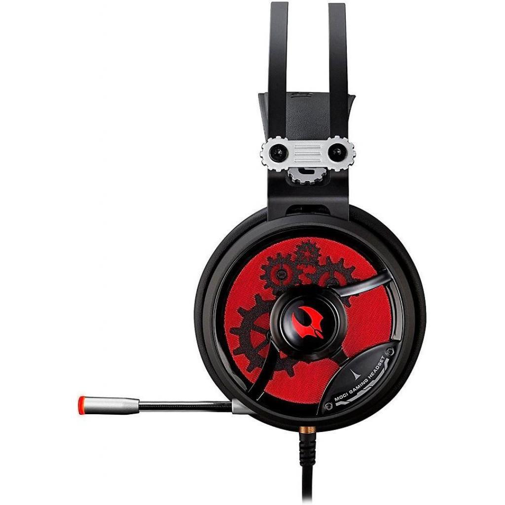 Наушники A4tech M660 BLACK RED изображение 3