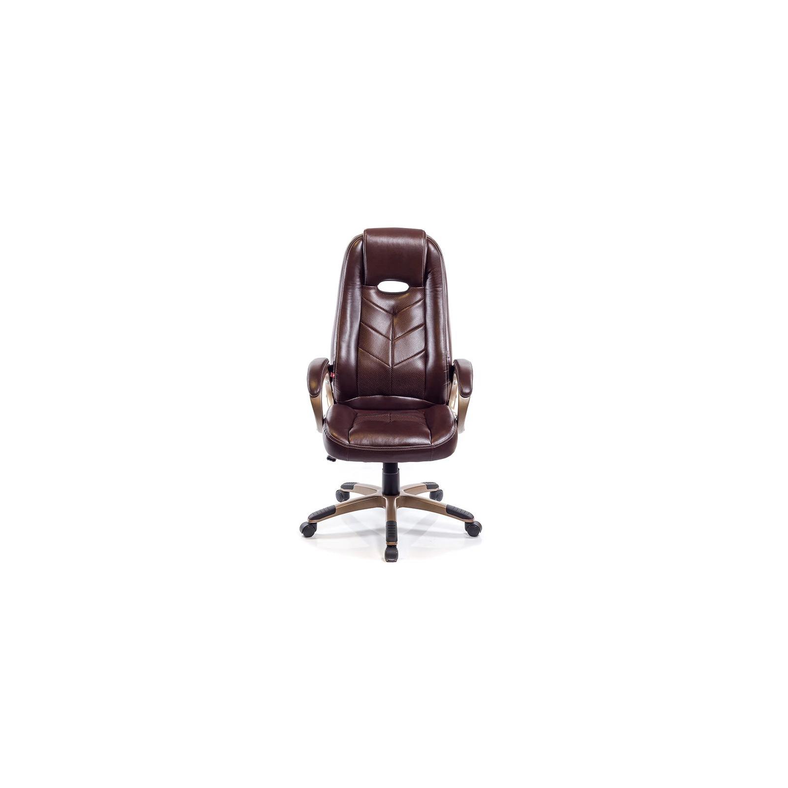 Кресло игровое АКЛАС Брук PL TILT Коричневое (07261) изображение 2