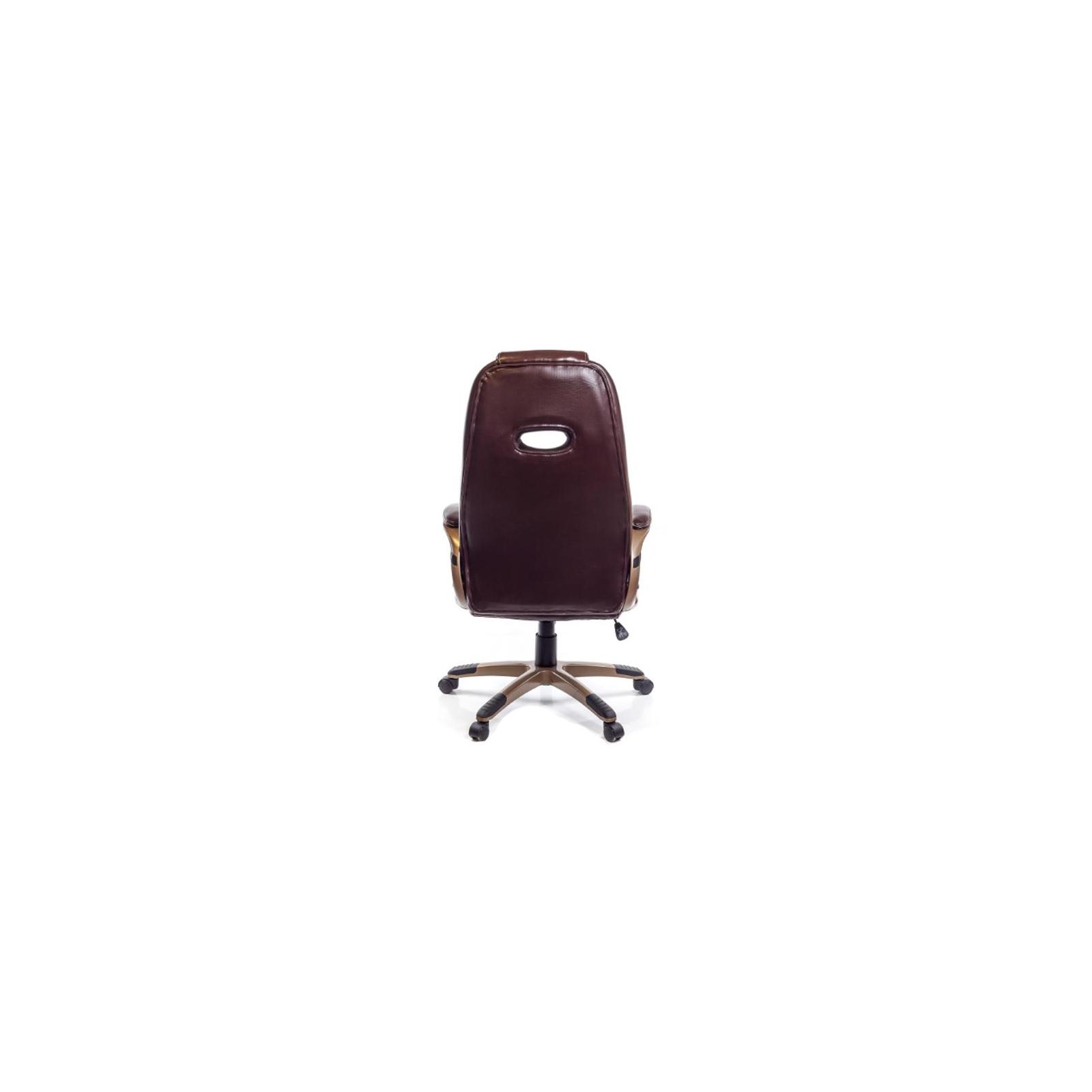 Кресло игровое АКЛАС Брук PL TILT Коричневое (07261) изображение 4