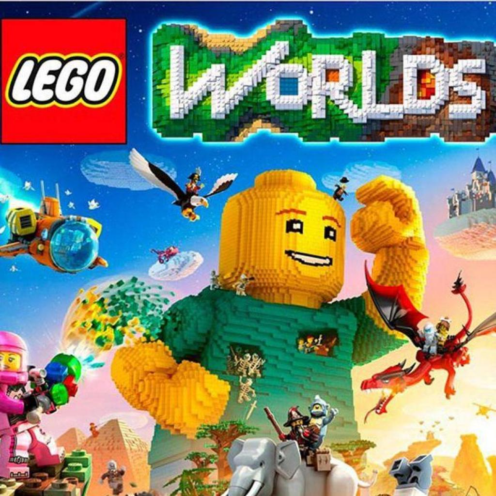 Игра SONY LEGO Worlds [Blu-Ray диск] PS4 (2205399)