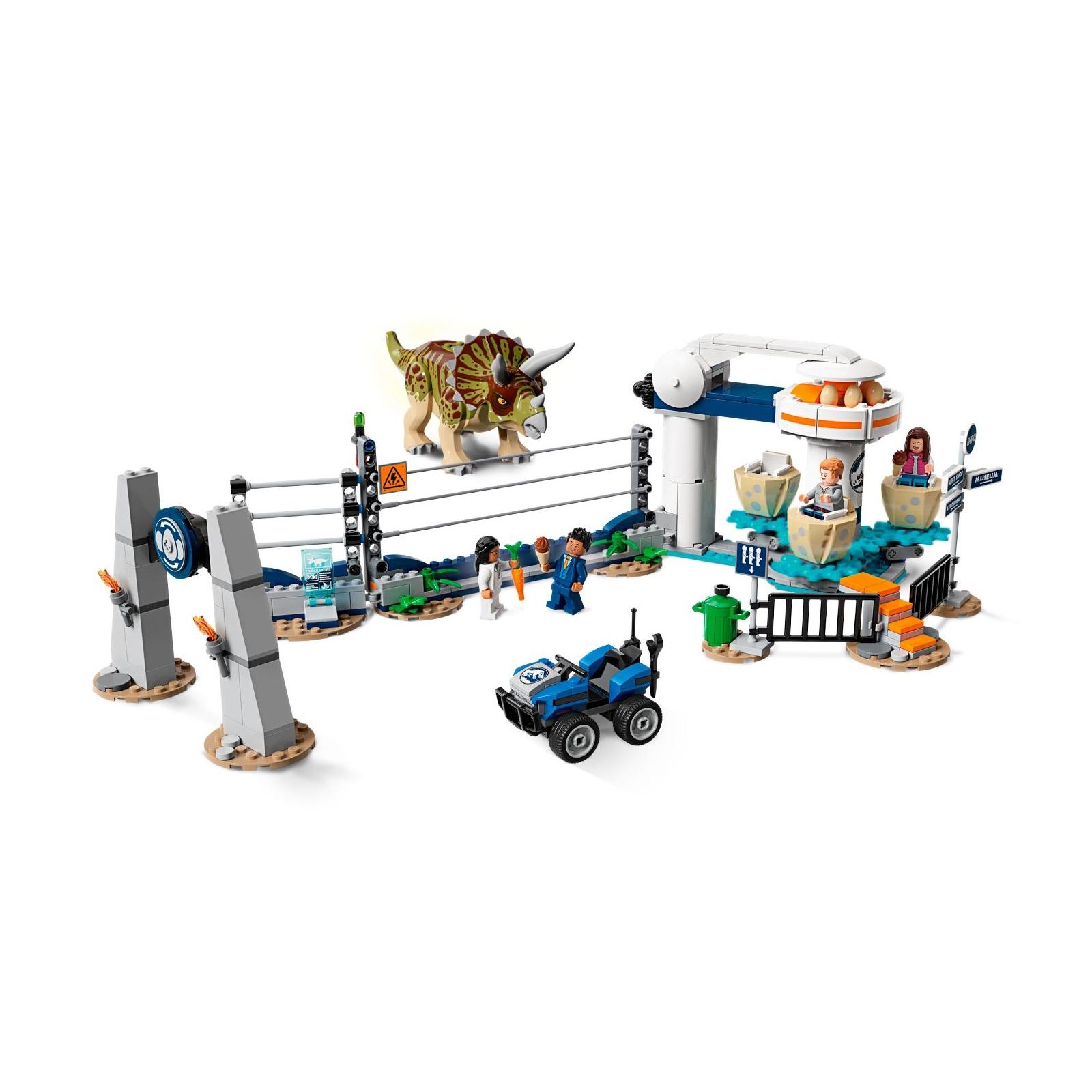 Конструктор LEGO LEGO Jurassic World Нападение трицератопса 447 деталей (75937) изображение 3