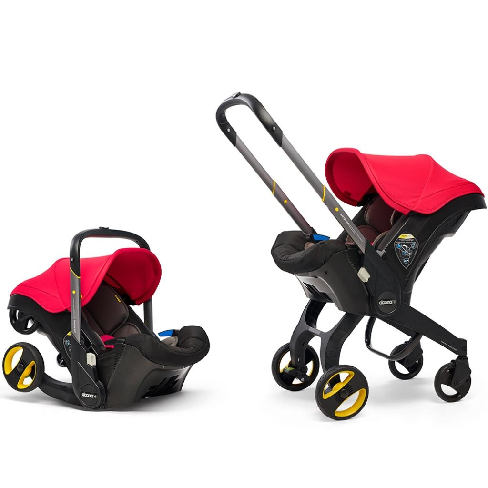 Автокресло Doona Infant Car Seat / Серое (SP150-20-006-015)