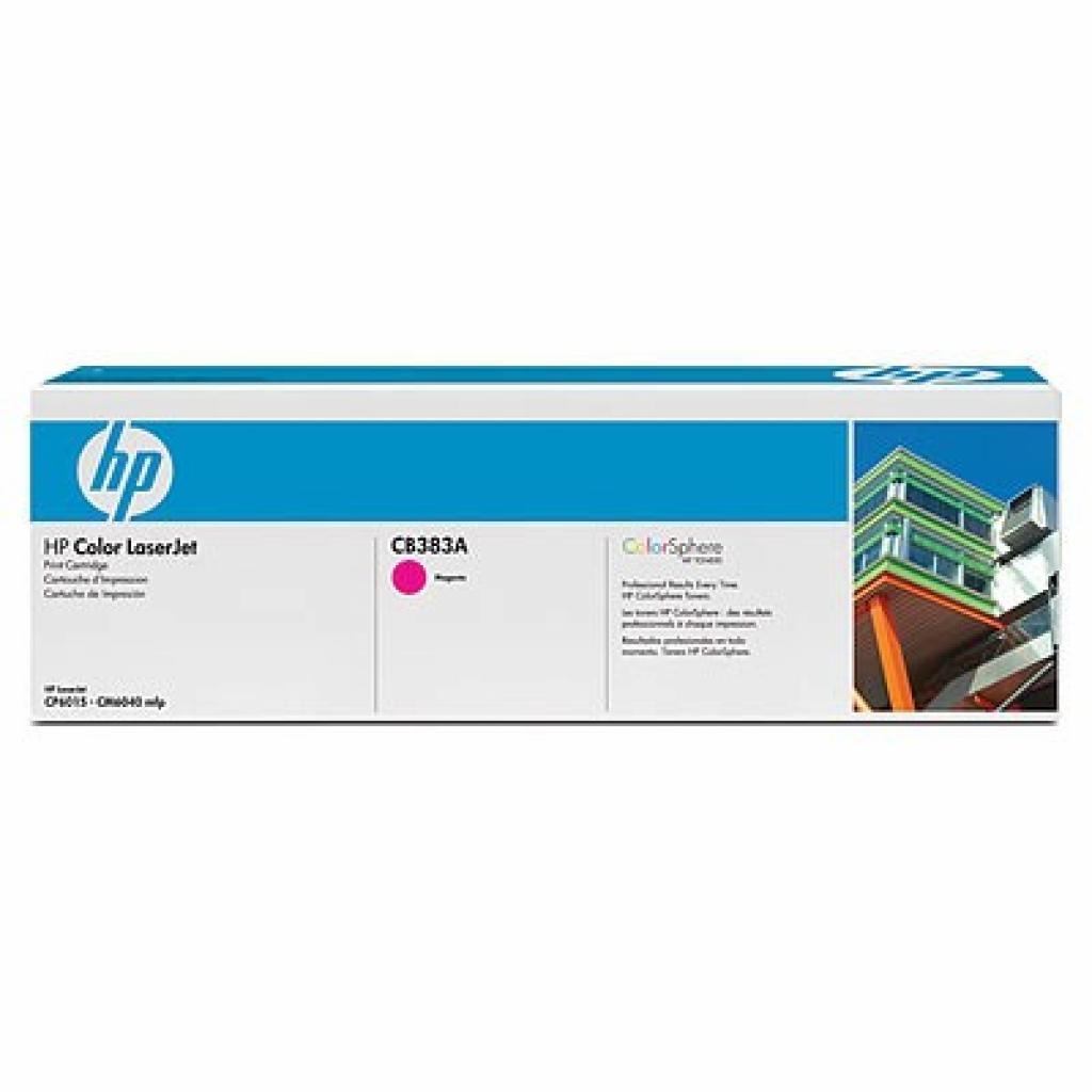 Картридж HP CLJ CP6015/CM6030/CM6040mfp Magenta (CB383A)