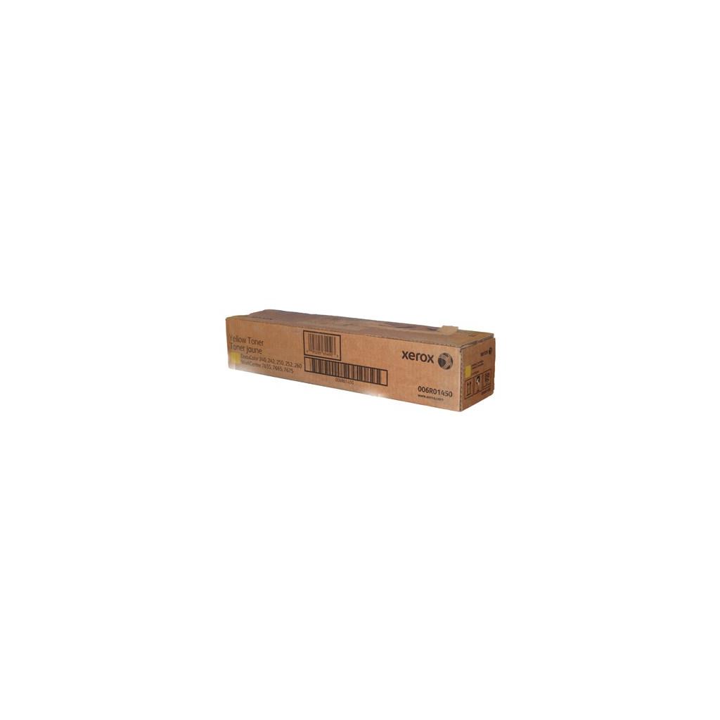 Тонер-картридж XEROX DC250 Yellow (2шт) (006R01450)