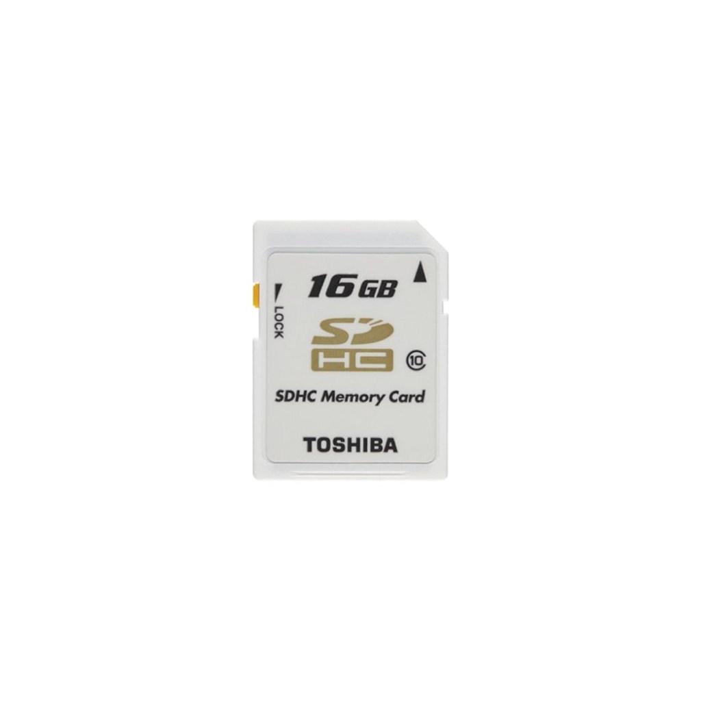Карта памяти TOSHIBA 16Gb SDHC class 10 (SD-T16GJ(BL4/SD-T16GJ(BL5)