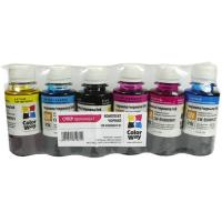 Чернила ColorWay Epson L800 (6х100) BK/С/M/LС/LM/Y (CW-EU800SET01)