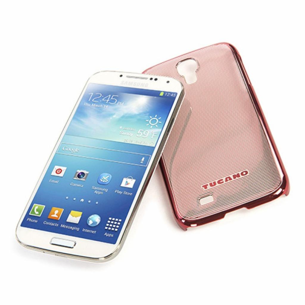 Чехол для моб. телефона Tucano для Samsung Galaxy S4 /Plesse/Red (SG4PL-R) изображение 3