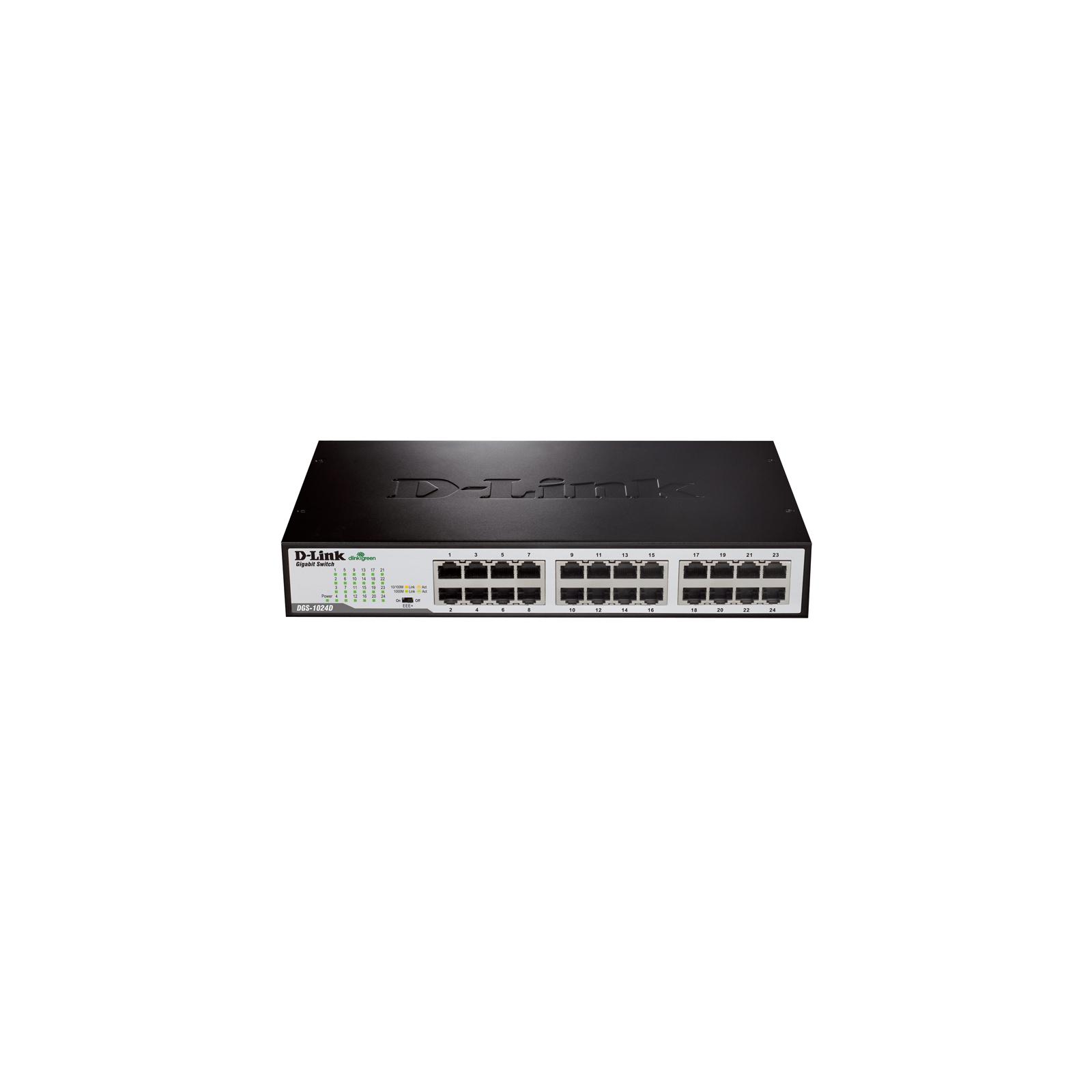 Коммутатор сетевой D-Link DGS-1024D/F2A