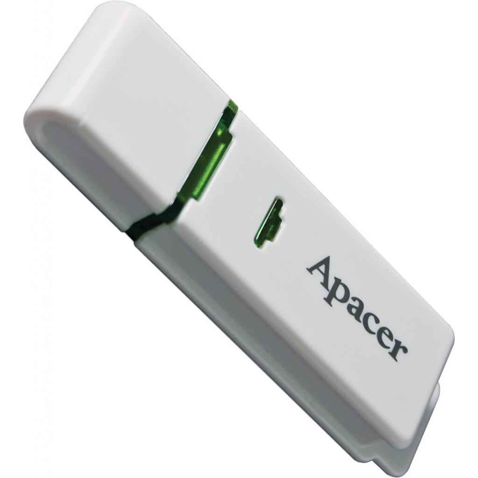 USB флеш накопитель 64GB AH223 White RP USB2.0 Apacer (AP64GAH223W-1) изображение 3