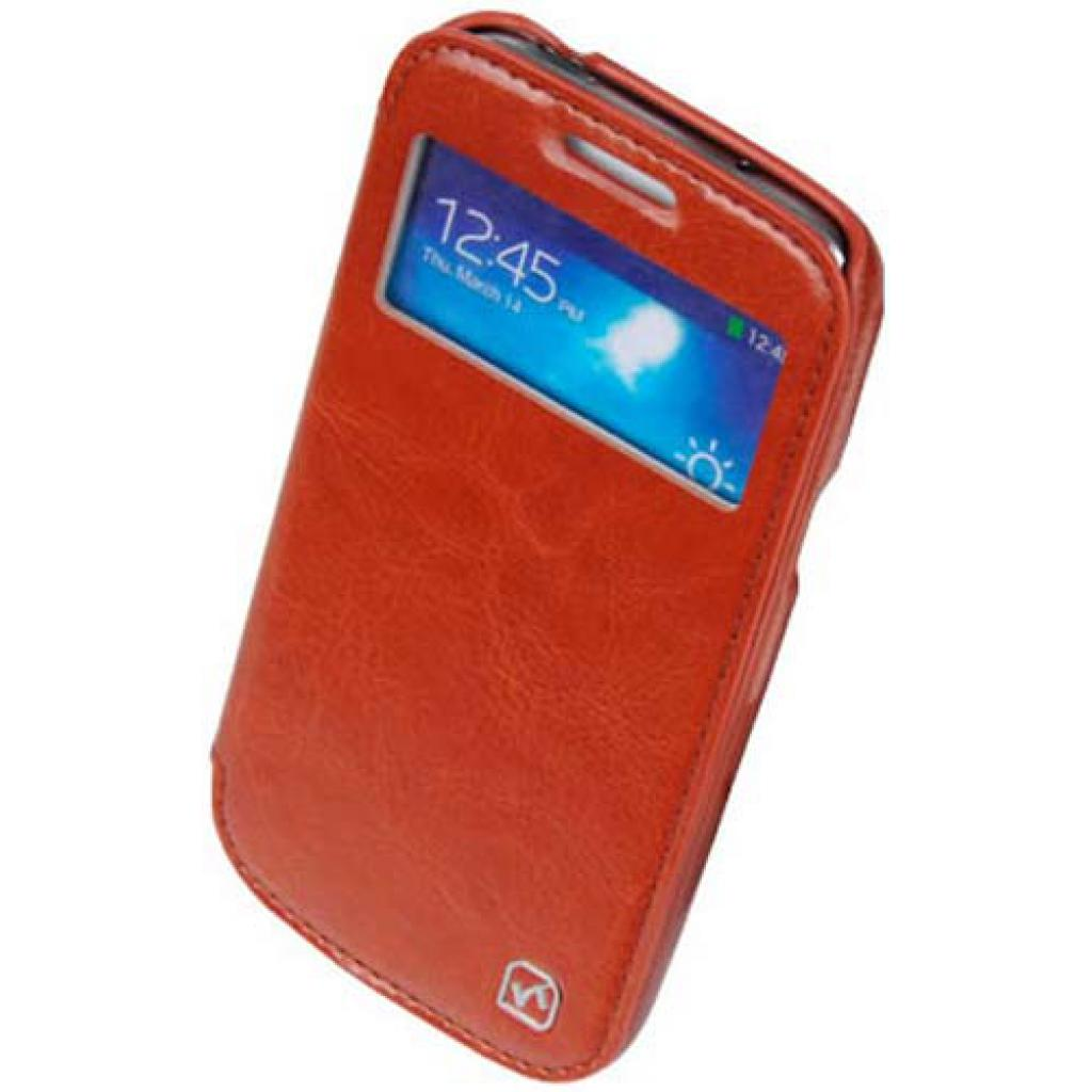 Чехол для моб. телефона HOCO для Samsung I9192 Galaxy S4 mini /Crystal s (HS-L045 Brown) изображение 4